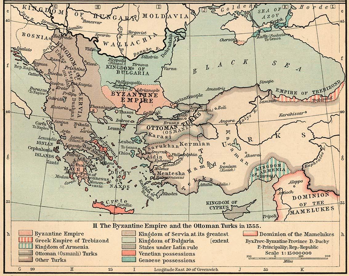 ��������-���  ������� ����� �������� ������� (������) byzantine_empire_1355.jpg