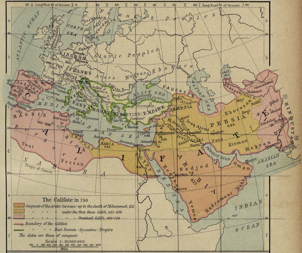 Middle East and Europe The Caliphate