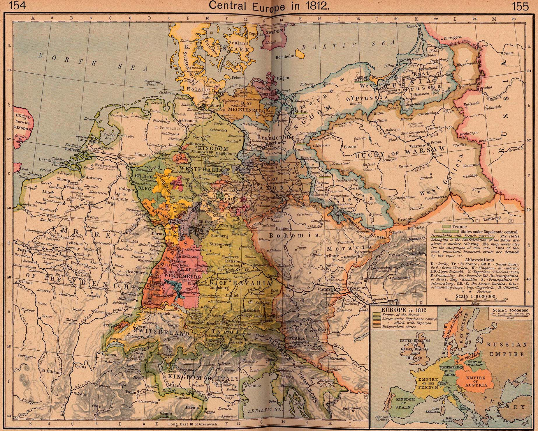 Europe Historical Maps PerryCastañeda Map Collection UT - Shepherd us map