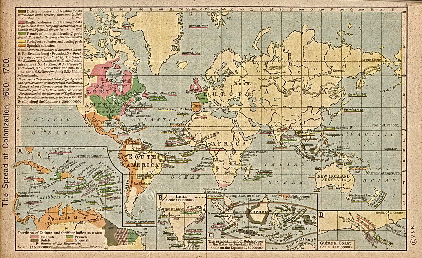 Maps World Map 1700