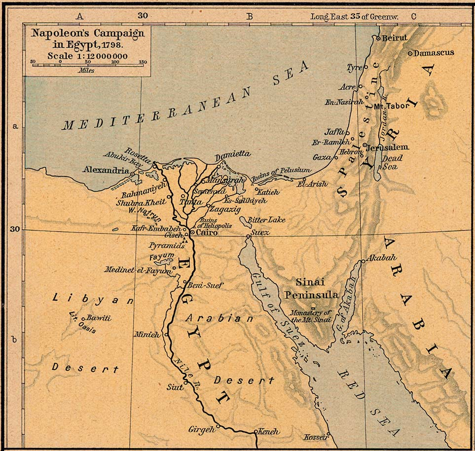 Middle East Historical Maps PerryCastañeda Map Collection UT - Map of ancient egypt historical sites
