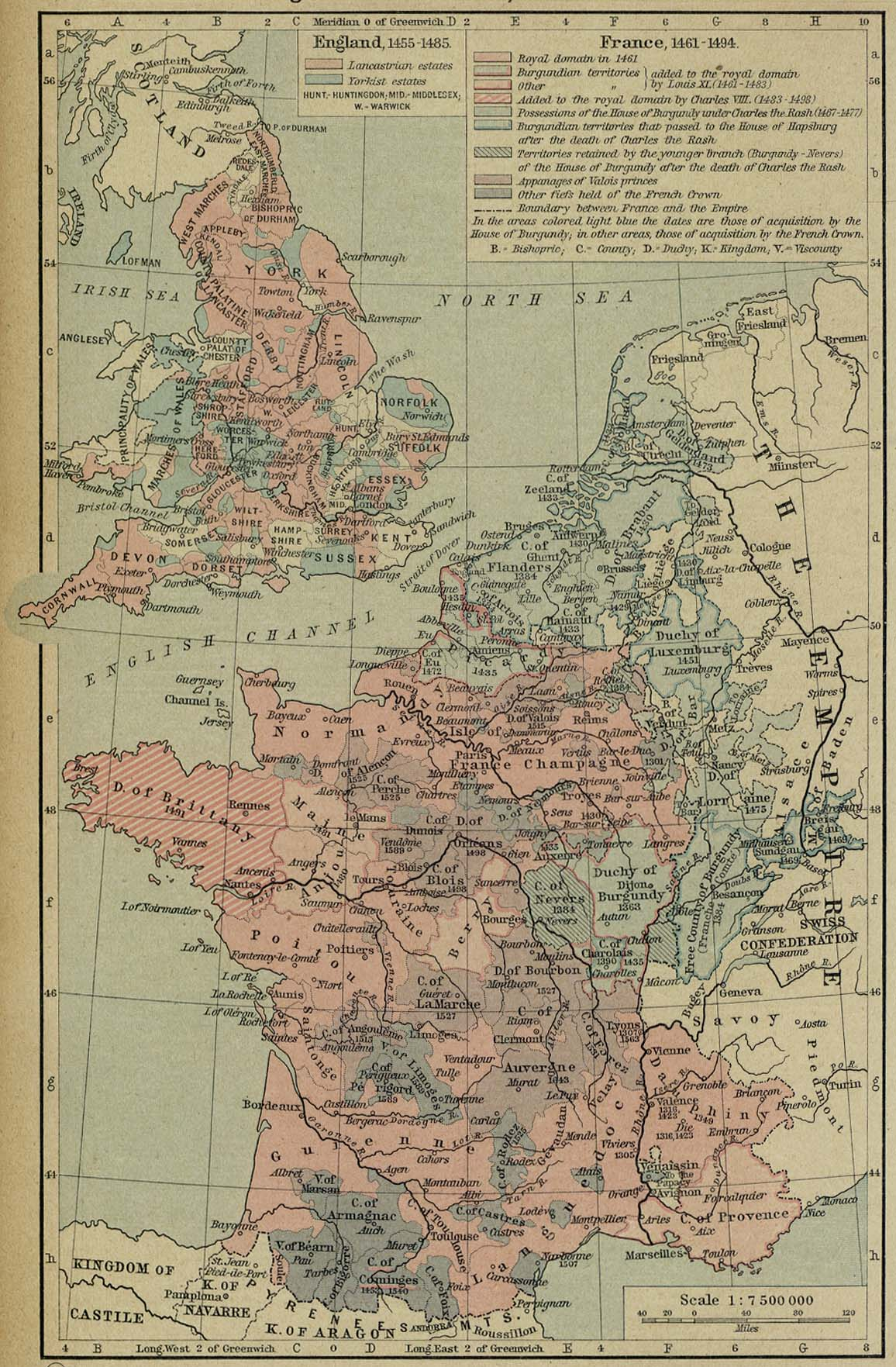 Historical maps of france france and england gumiabroncs Gallery