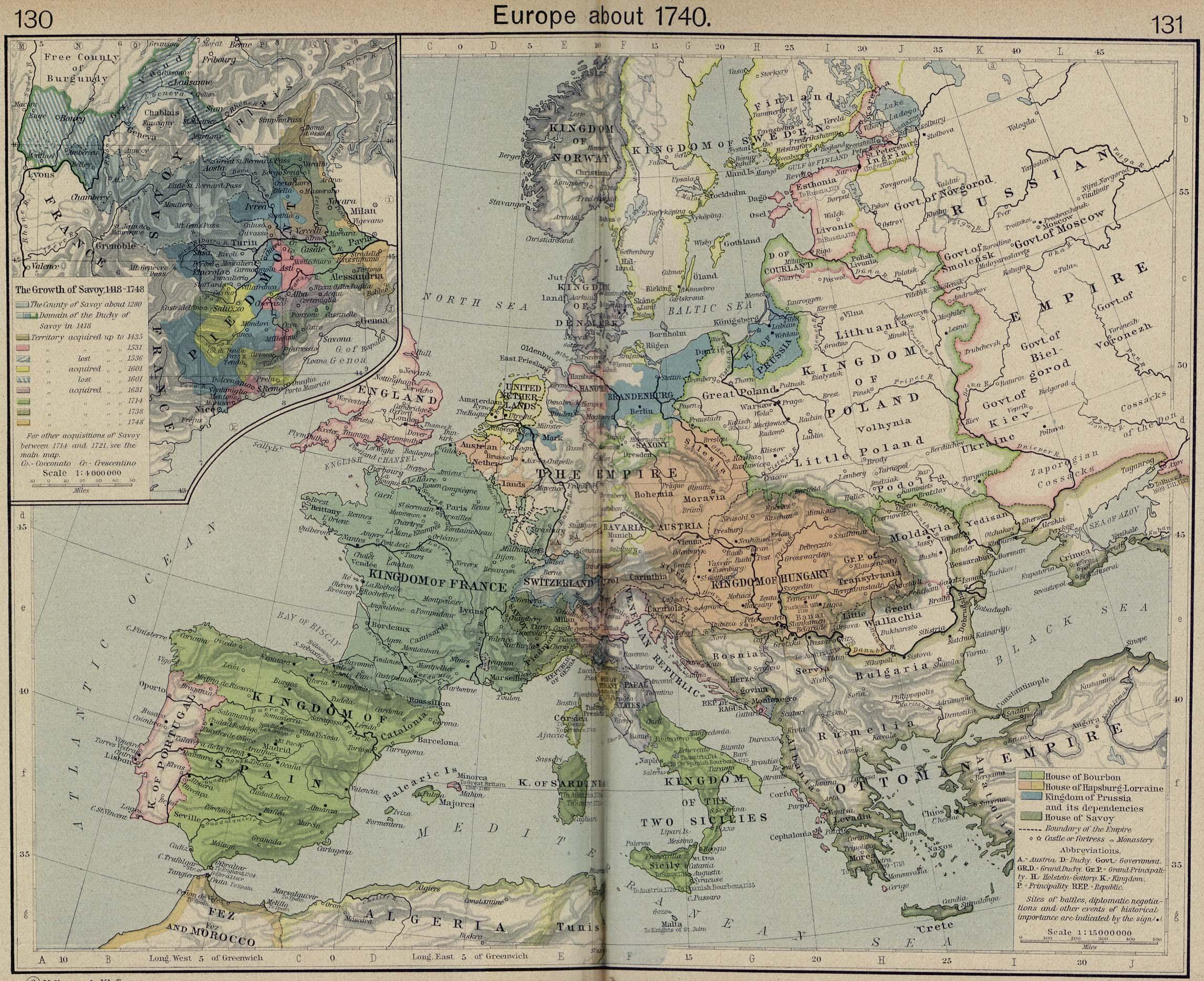 Whkmla Historical Atlas Europe 1500 1815