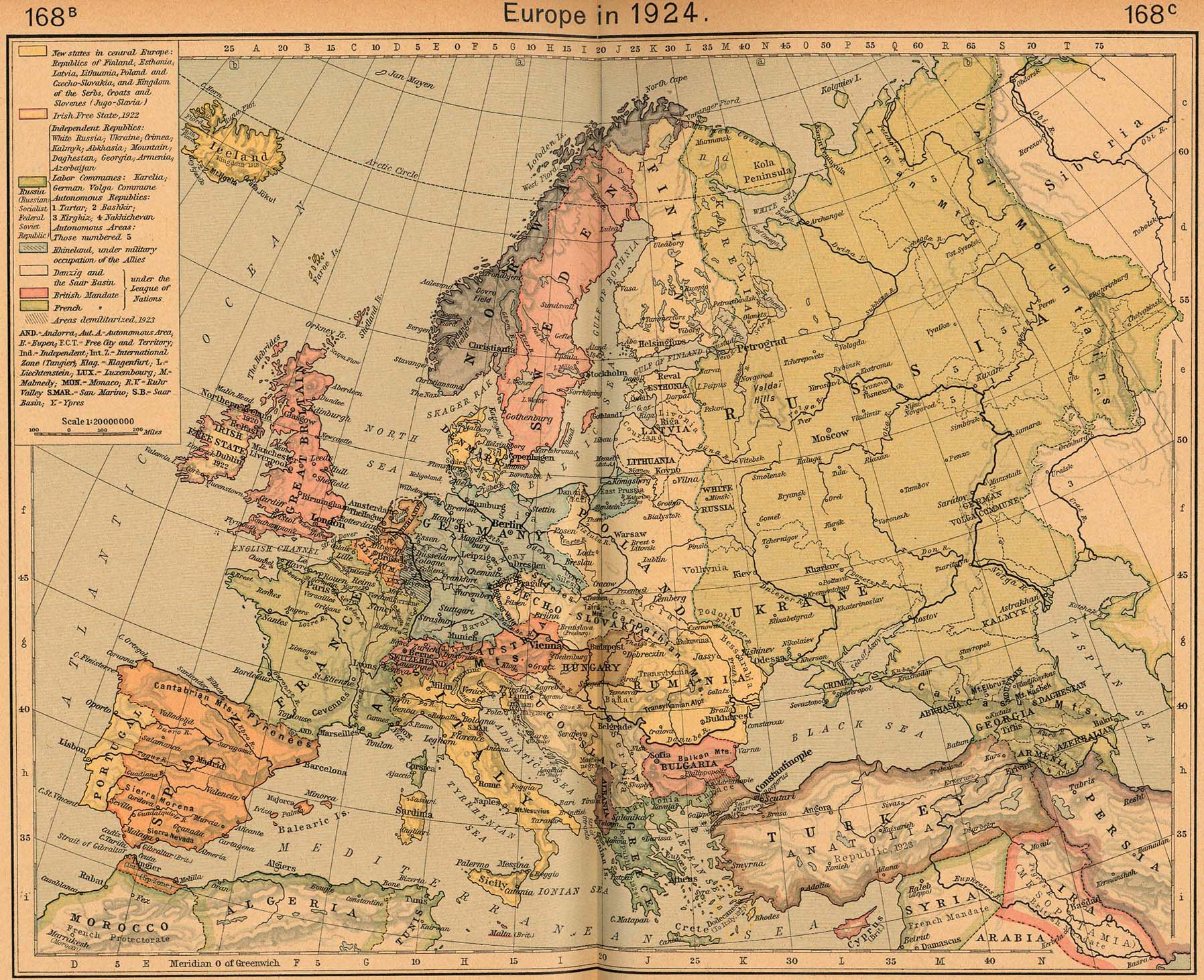 Latitude Map Of Europe.Latitude And Longitude Maps Lexu Tk