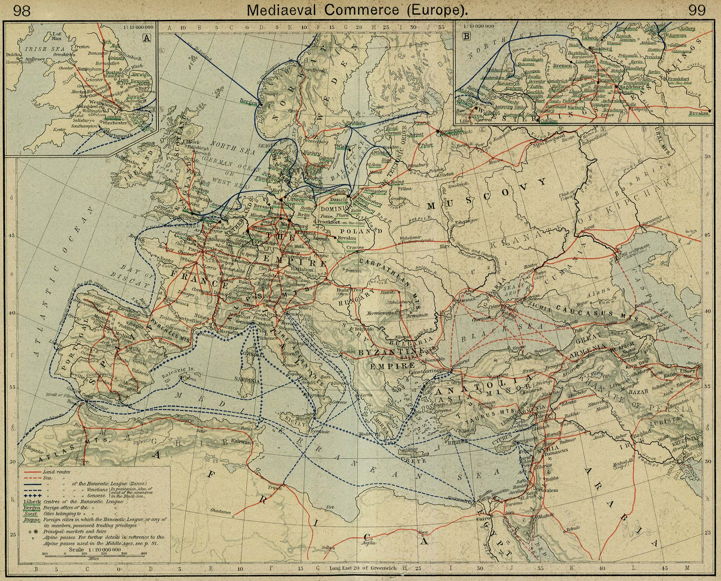 Europe Historical Maps - Perry-Castañeda Map Collection - UT Library ...