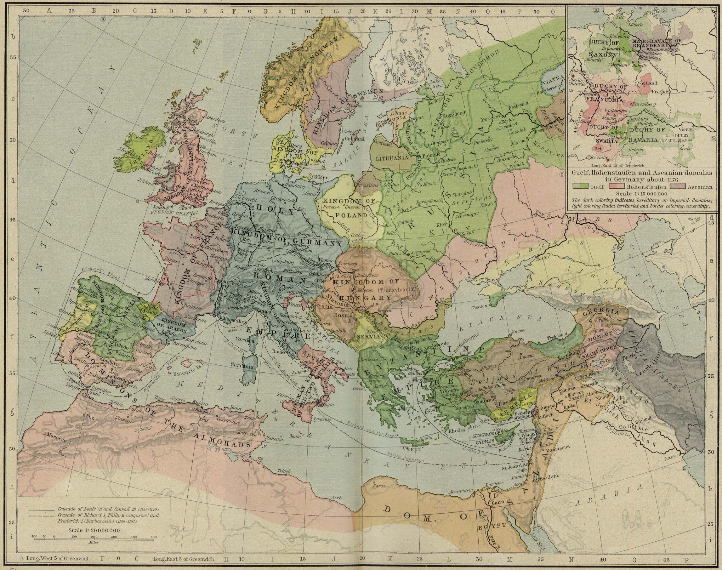europe historical maps perry castañeda map collection ut