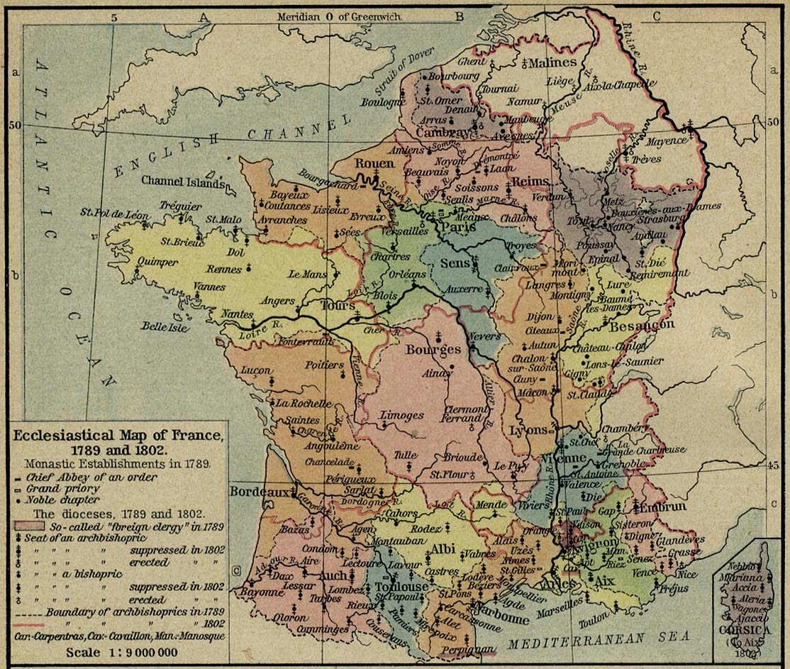 Map Of France In 1789.France Maps Perry Castaneda Map Collection Ut Library Online