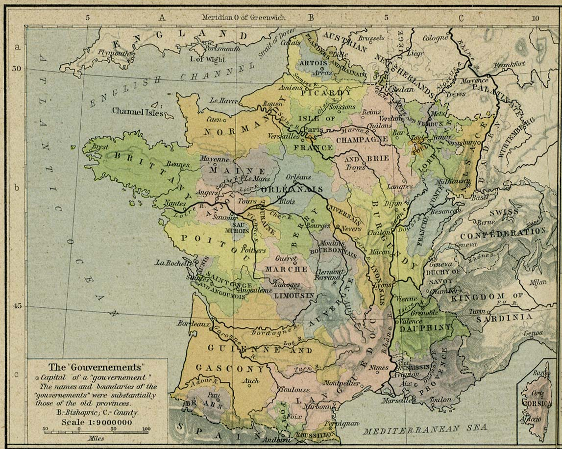 Carte De Leurope En 1942.France Maps Perry Castaneda Map Collection Ut Library Online