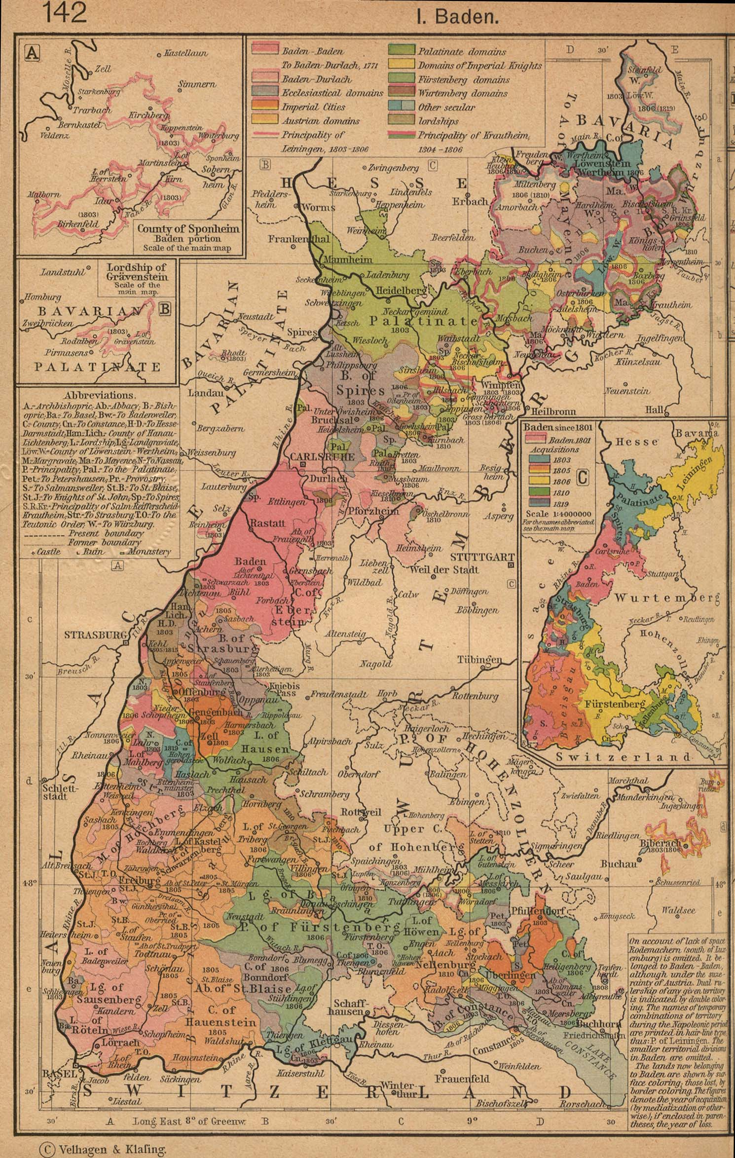 alsace lorraine german empire west 1882 baden