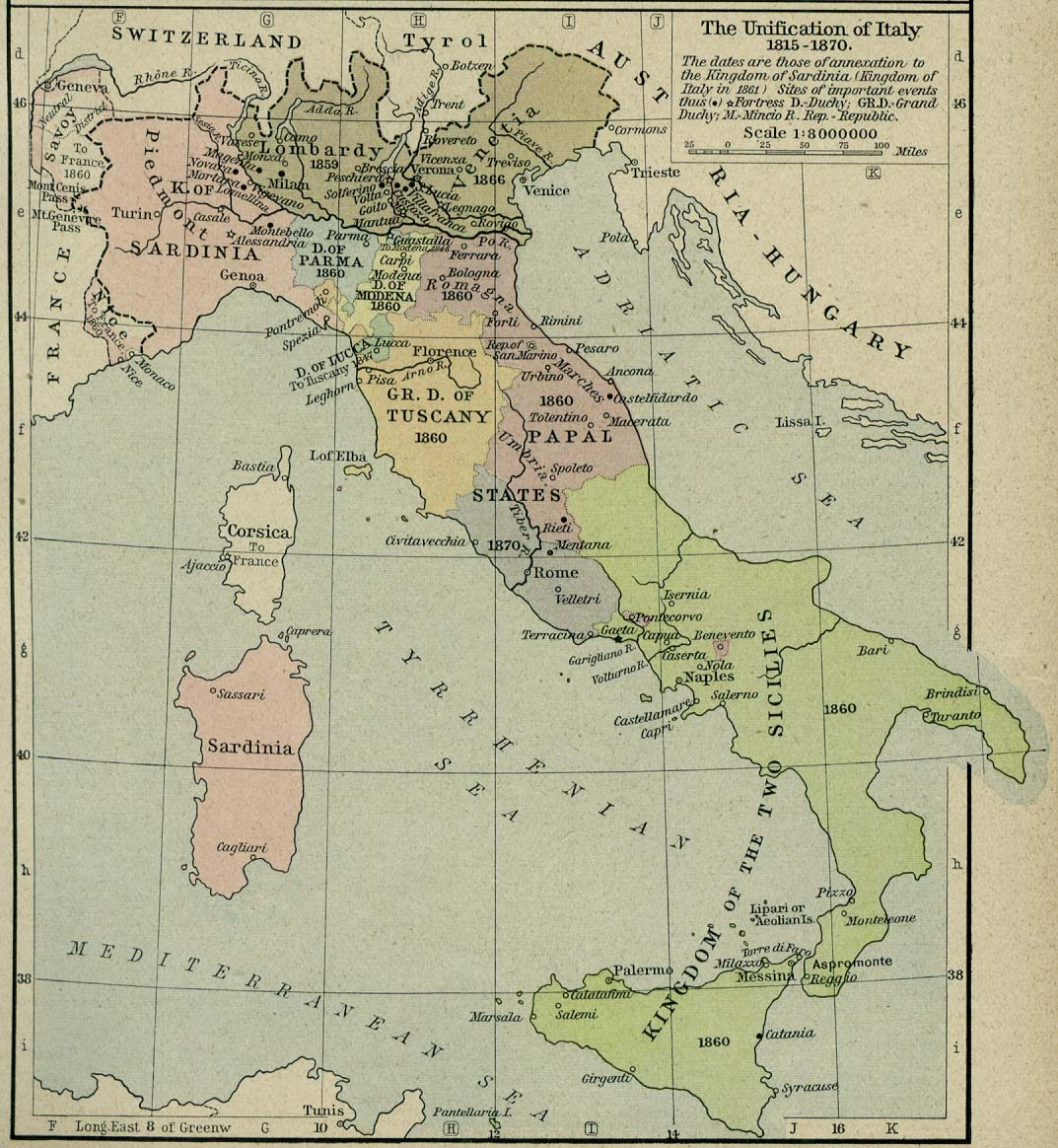 history post unification italy History 8 points 3) what was what was one post-unification issue that encouraged some italian unification refers to the political consolidation of all the.