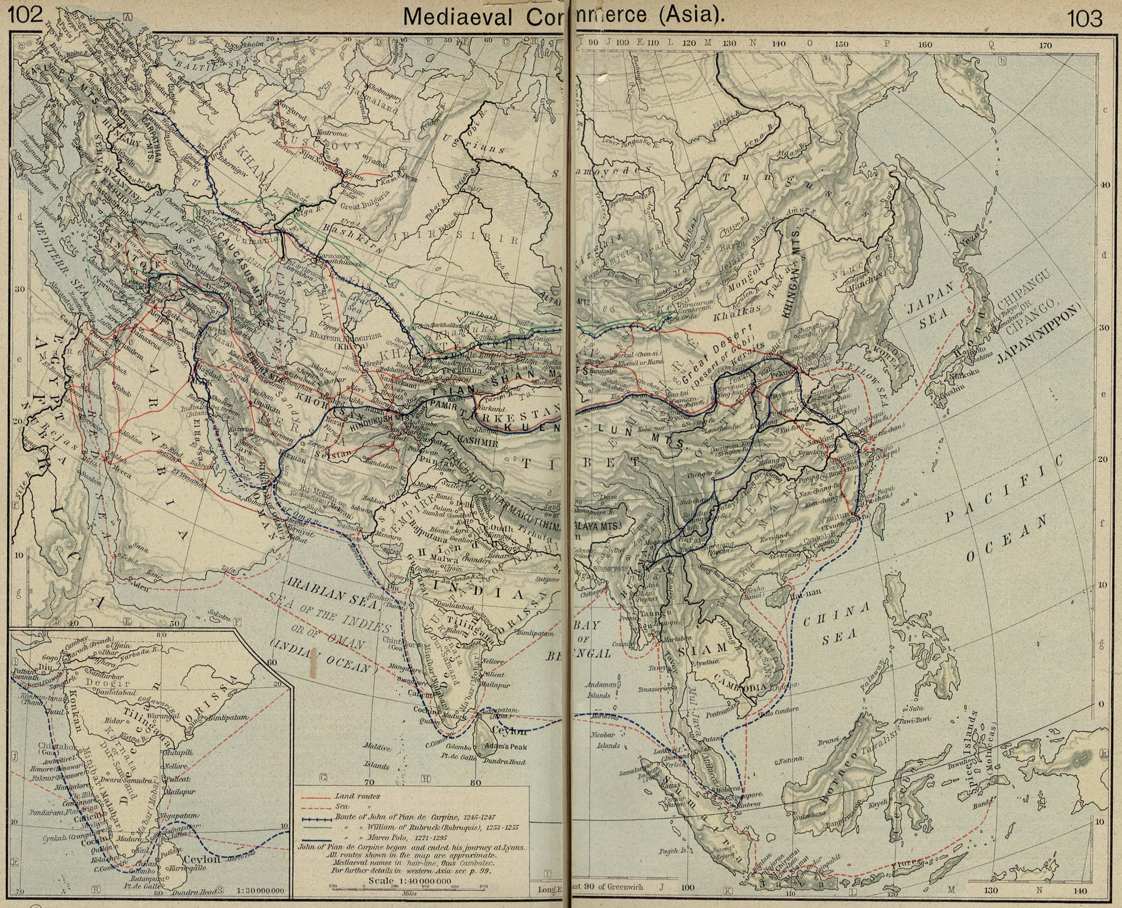 10 historical and trade route maps of southeast asia medieval and portuguese commerce in southeast asia gumiabroncs Gallery