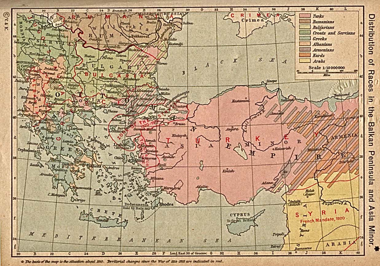 Middle East Map Before Wwii.Global Connections Mapping The Middle East Pbs