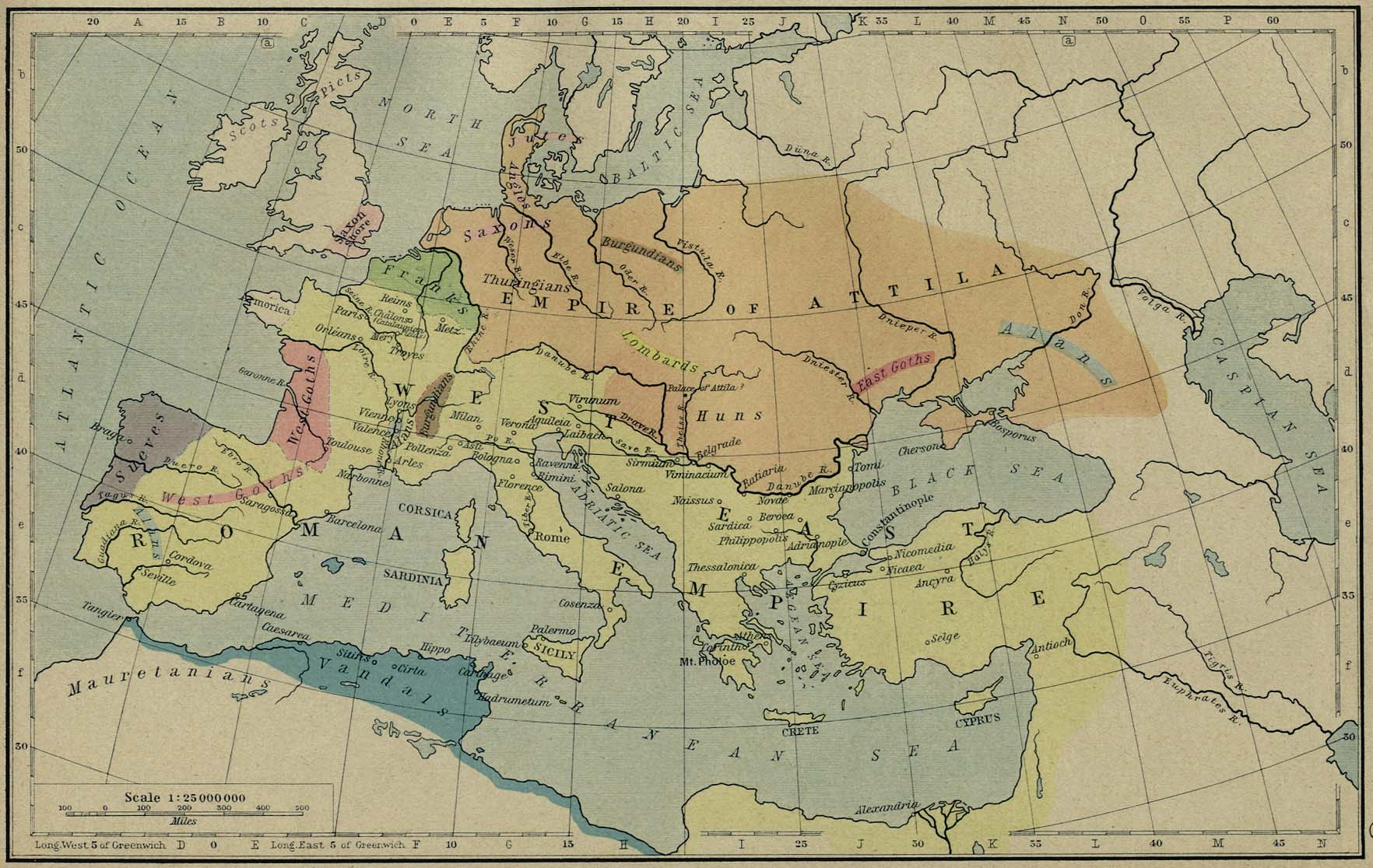 Historical Maps Of The Roman Empire