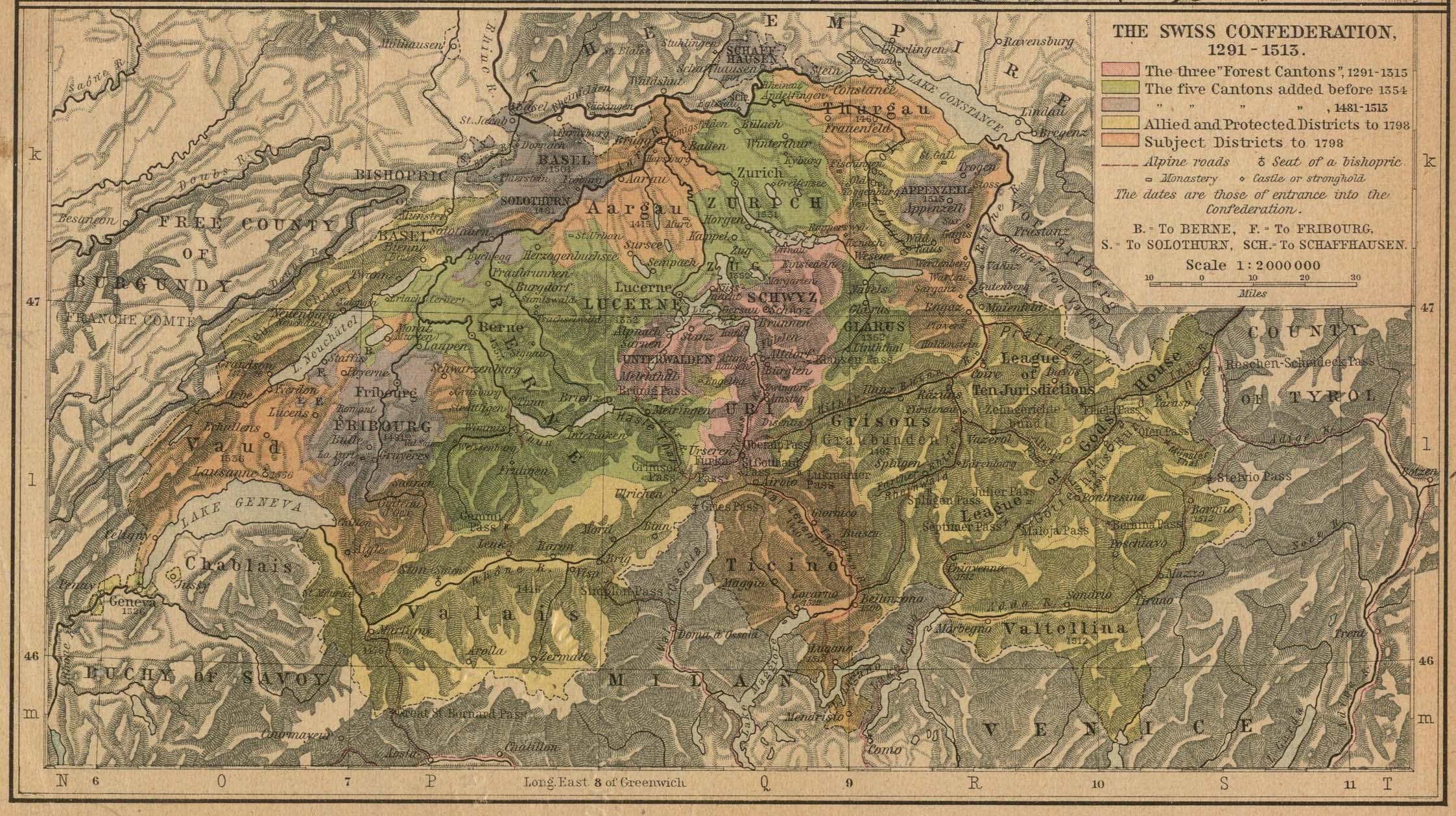 Switzerland Maps PerryCastaeda Map Collection UT Library Online