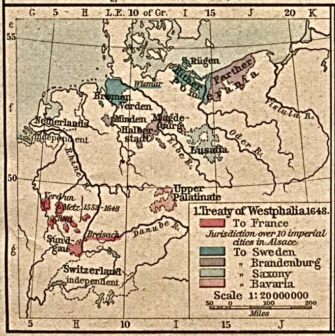 a history of the peace treaty of westphalia This blog post describes the events leading up to the peace of westphalia in 1648 and wars in european history whereas the peace treaty of.