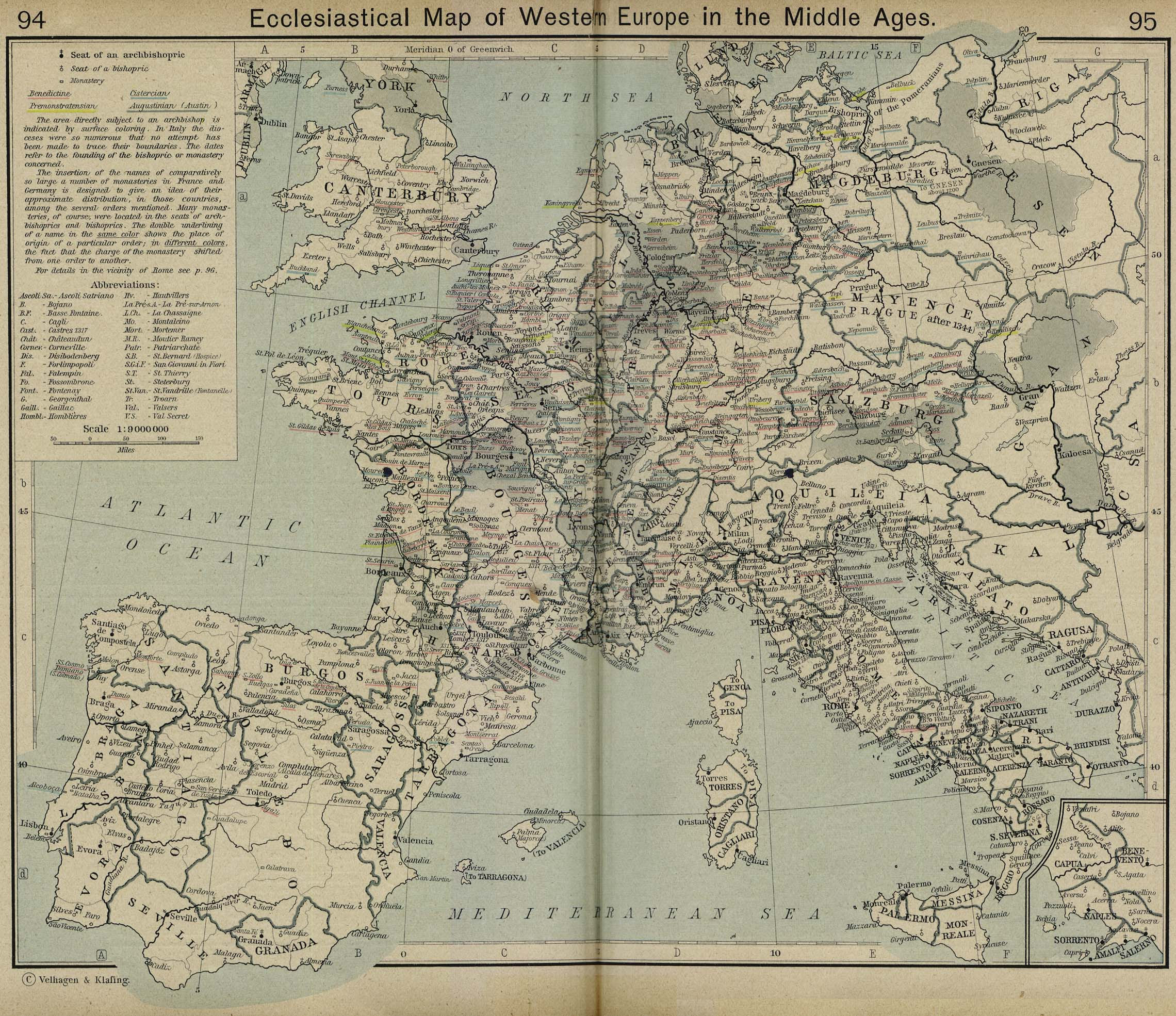 Maps of the Middle Ages - Social Studies for Kids