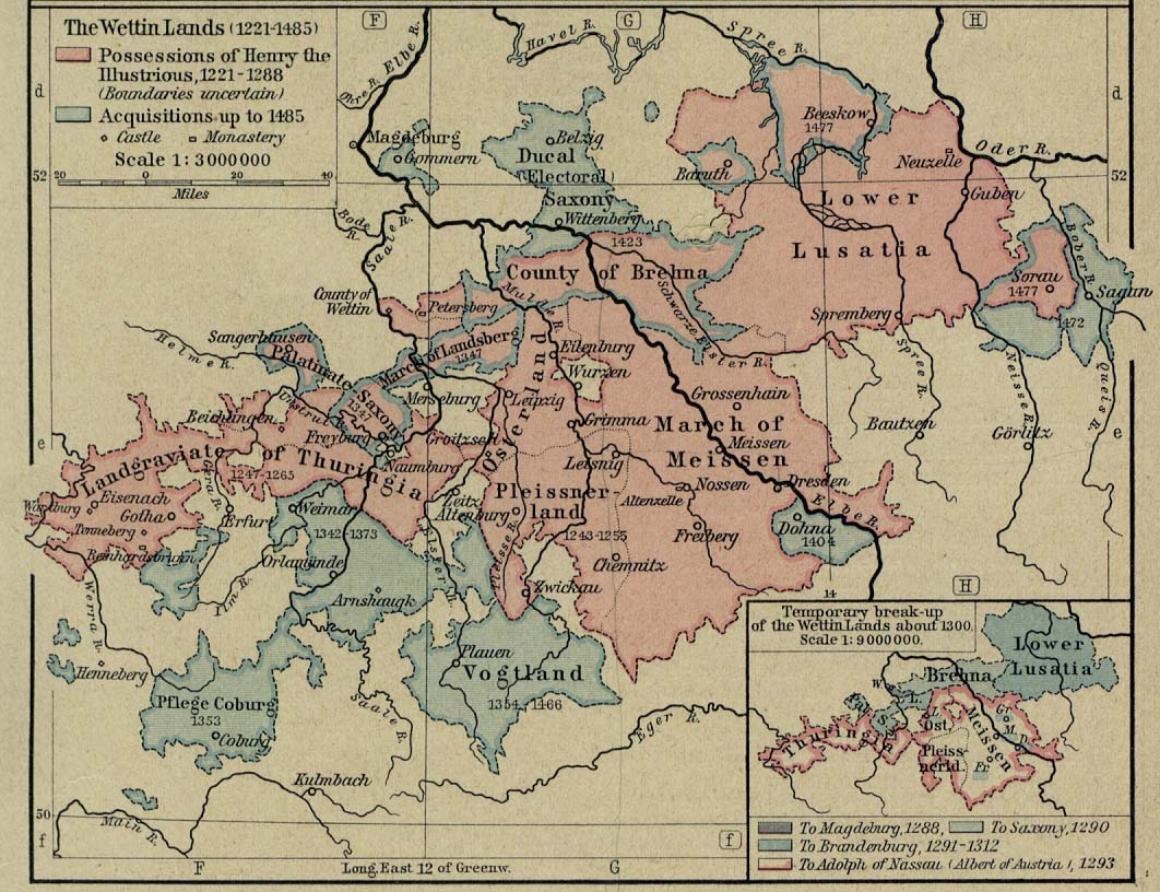 Europe Historical Maps PerryCastañeda Map Collection UT - Germany map by year