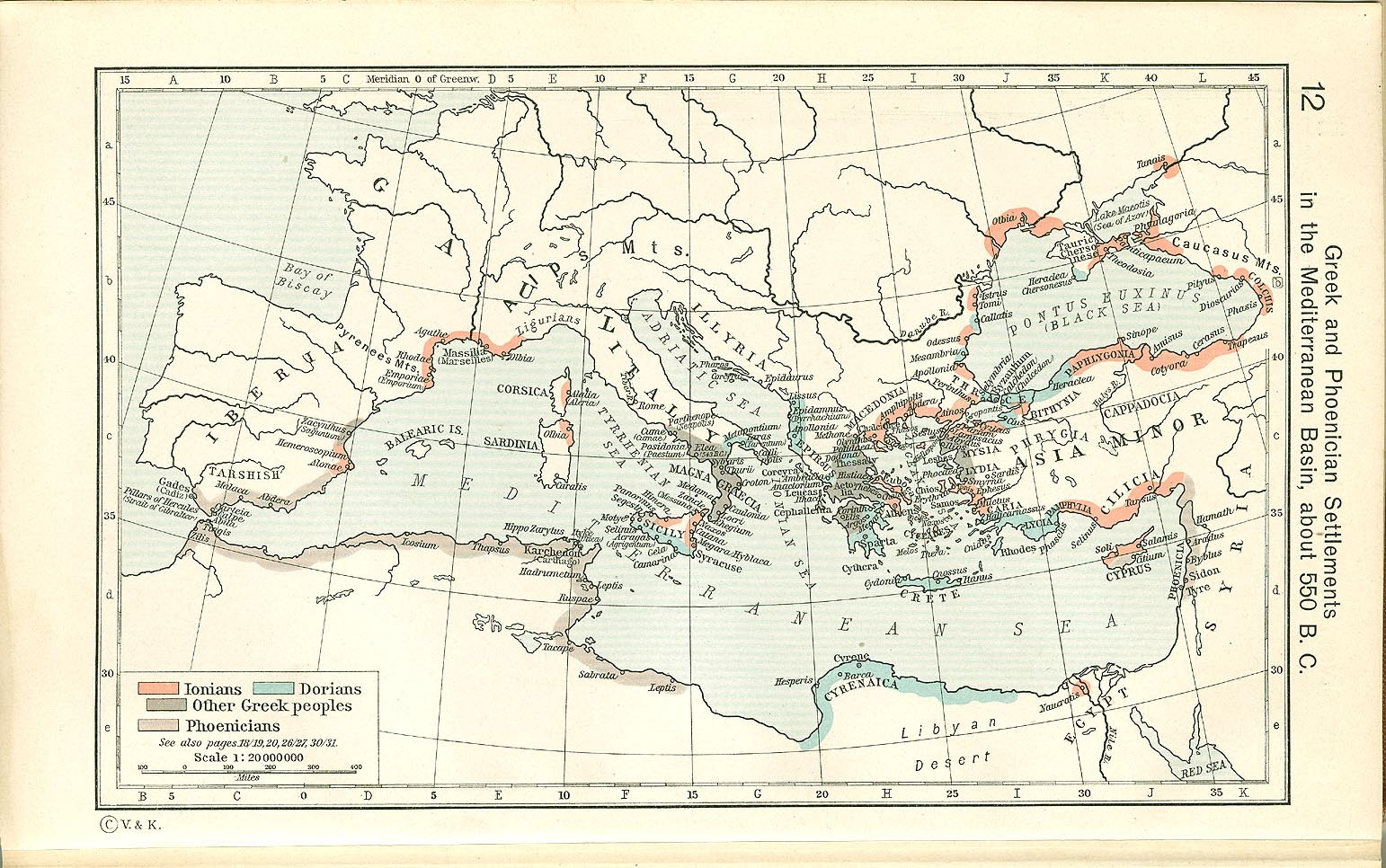 Maps & Atlases - Ancient Greek History: Greek Economy & Society ...