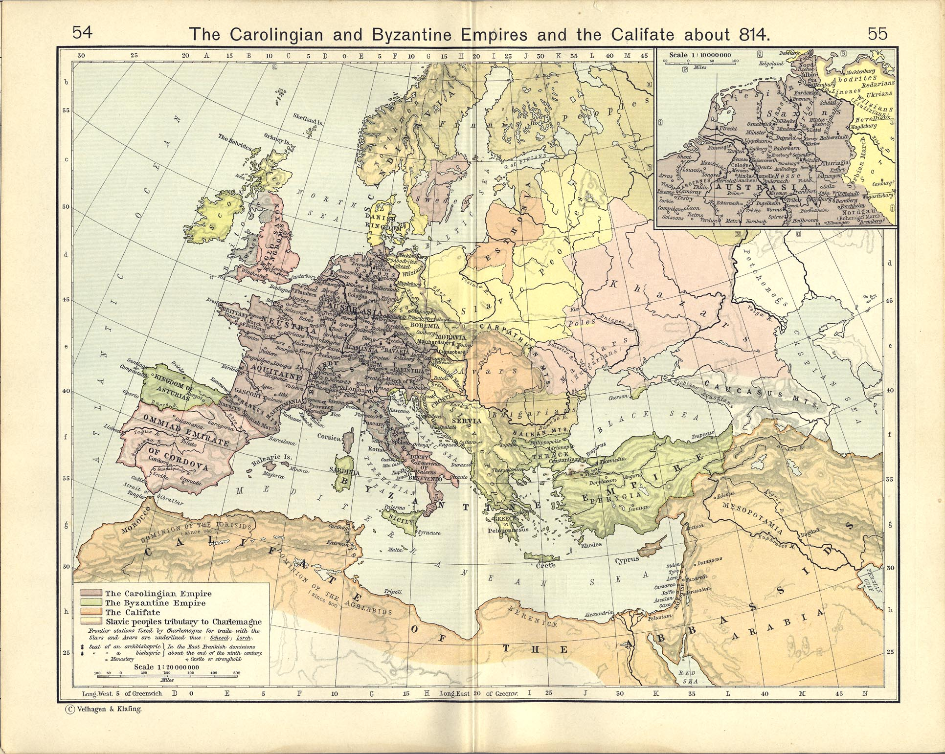 Europe Historical Maps PerryCastañeda Map Collection UT - Maps of us and anchent rome
