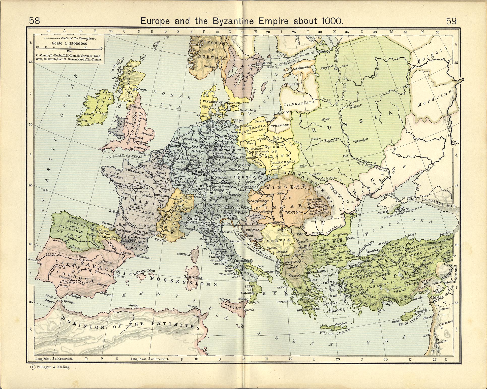 Europe in 1000 A D 652x392 MapPorn