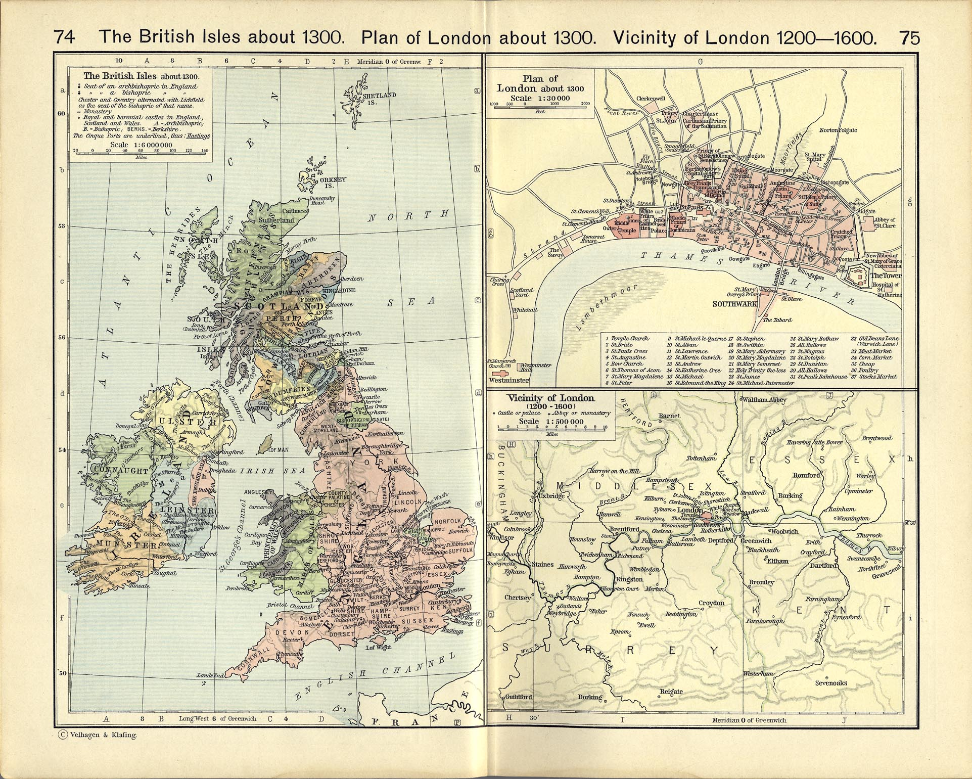 Map Of England Showing London.United Kingdom Maps Perry Castaneda Map Collection Ut Library Online
