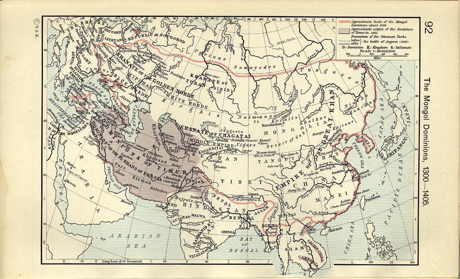 political and economic effects of mongol empire on china and middle east Population in some areas of europe and the middle east to the economic in china with the mongols on top and the mongol empire in the middle of.