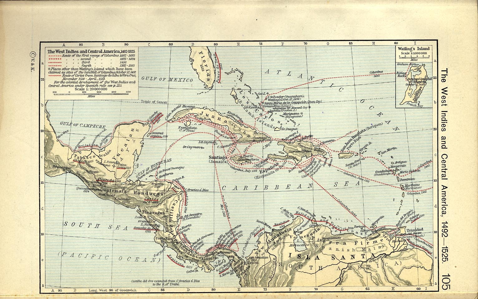 The West Indies And Central America