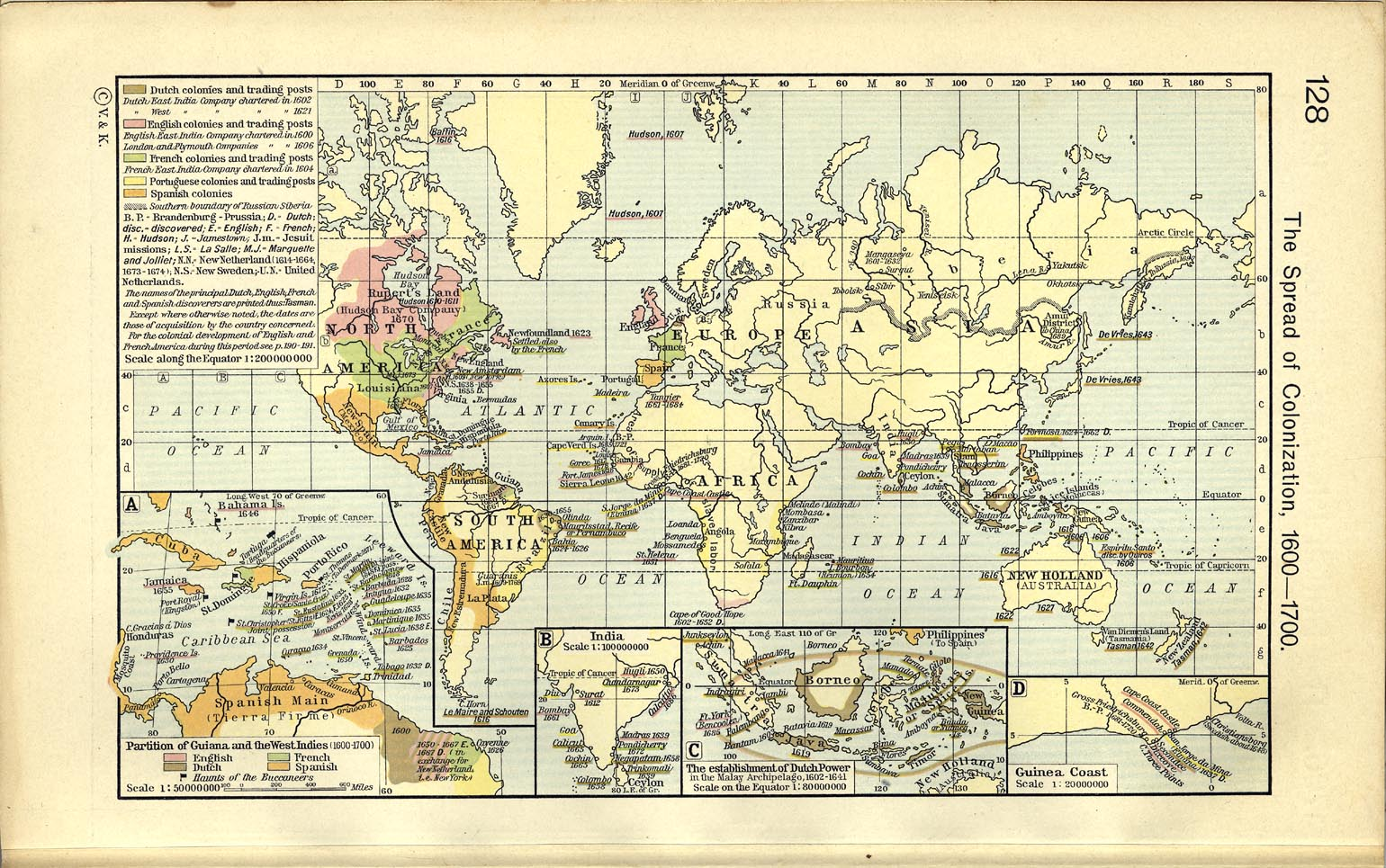 World historical maps perry castaeda map collection ut library the spread of colonization gumiabroncs Image collections