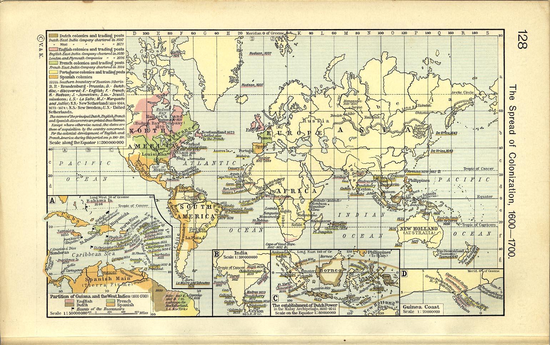 Timeline: 1600-Present - BJHI