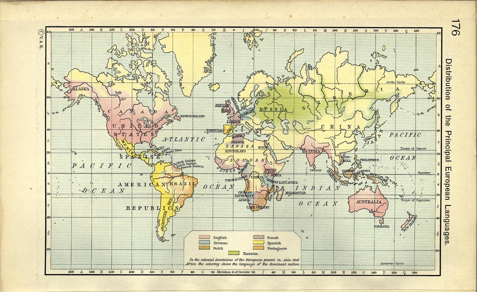 World historical maps perry castaeda map collection ut library the distribution of the principal european languages 1911 gumiabroncs Gallery
