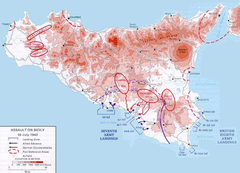 ... Sicily   Assault On Sicily, ...