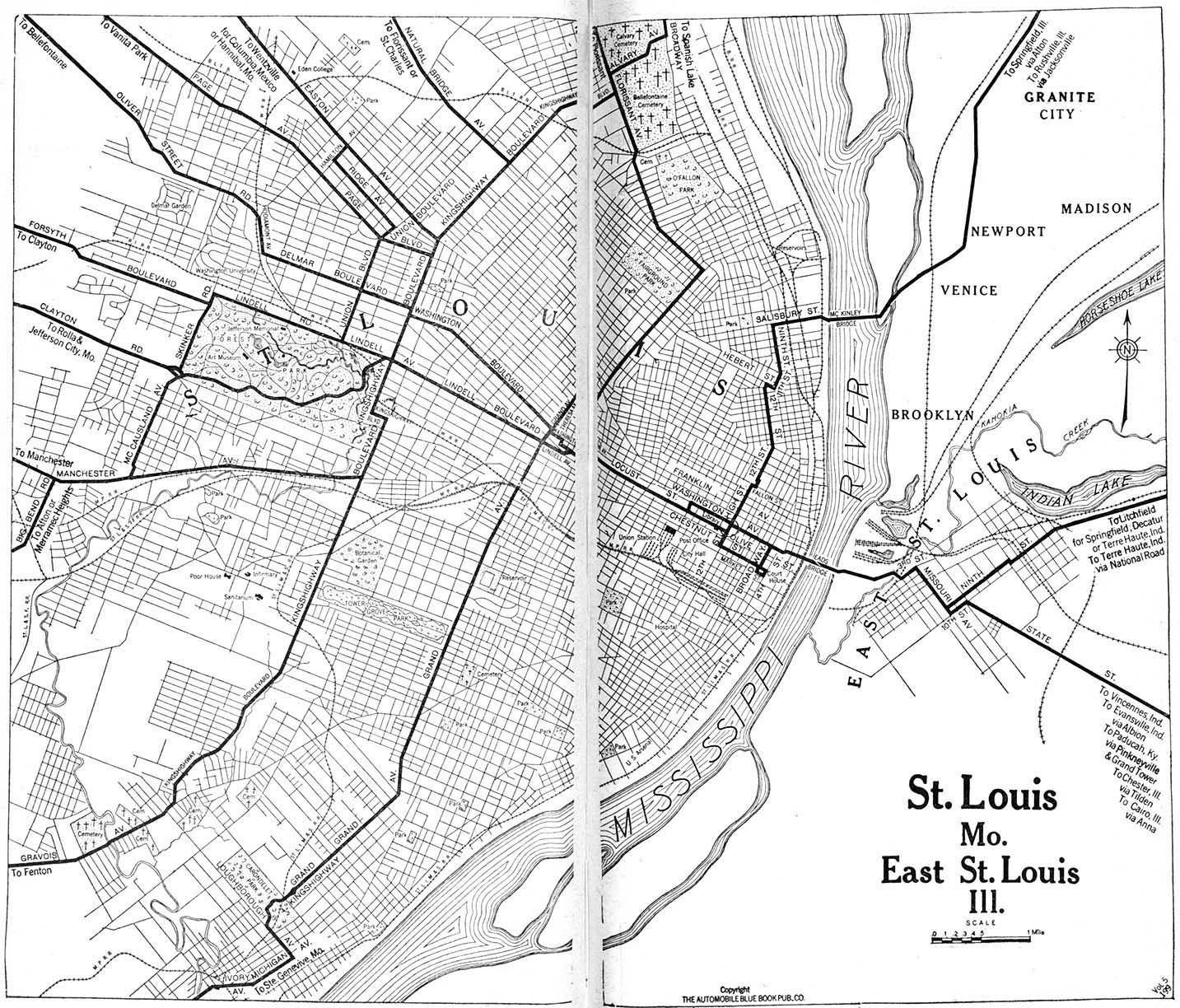 Historic Map Of St Louis Mo 1896 Pictures to pin on Pinterest