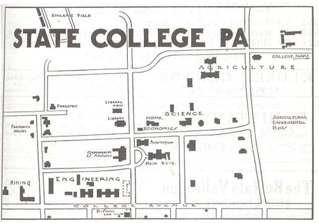 Pennsylvania Maps PerryCastañeda Map Collection UT Library Online - Penn map state maps
