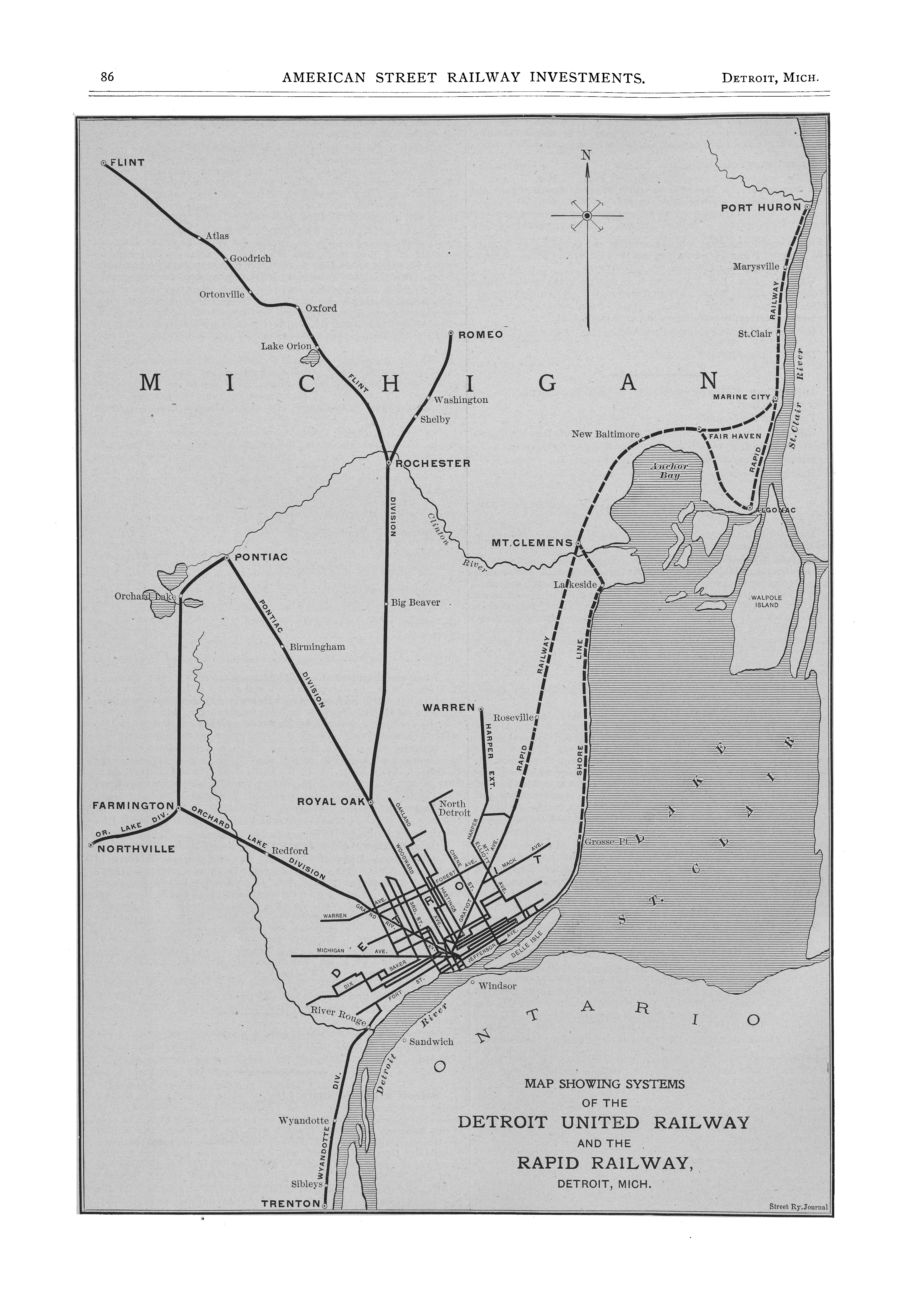 McGraw Electric Railway Manual - Perry-Castañeda Map Collection - on