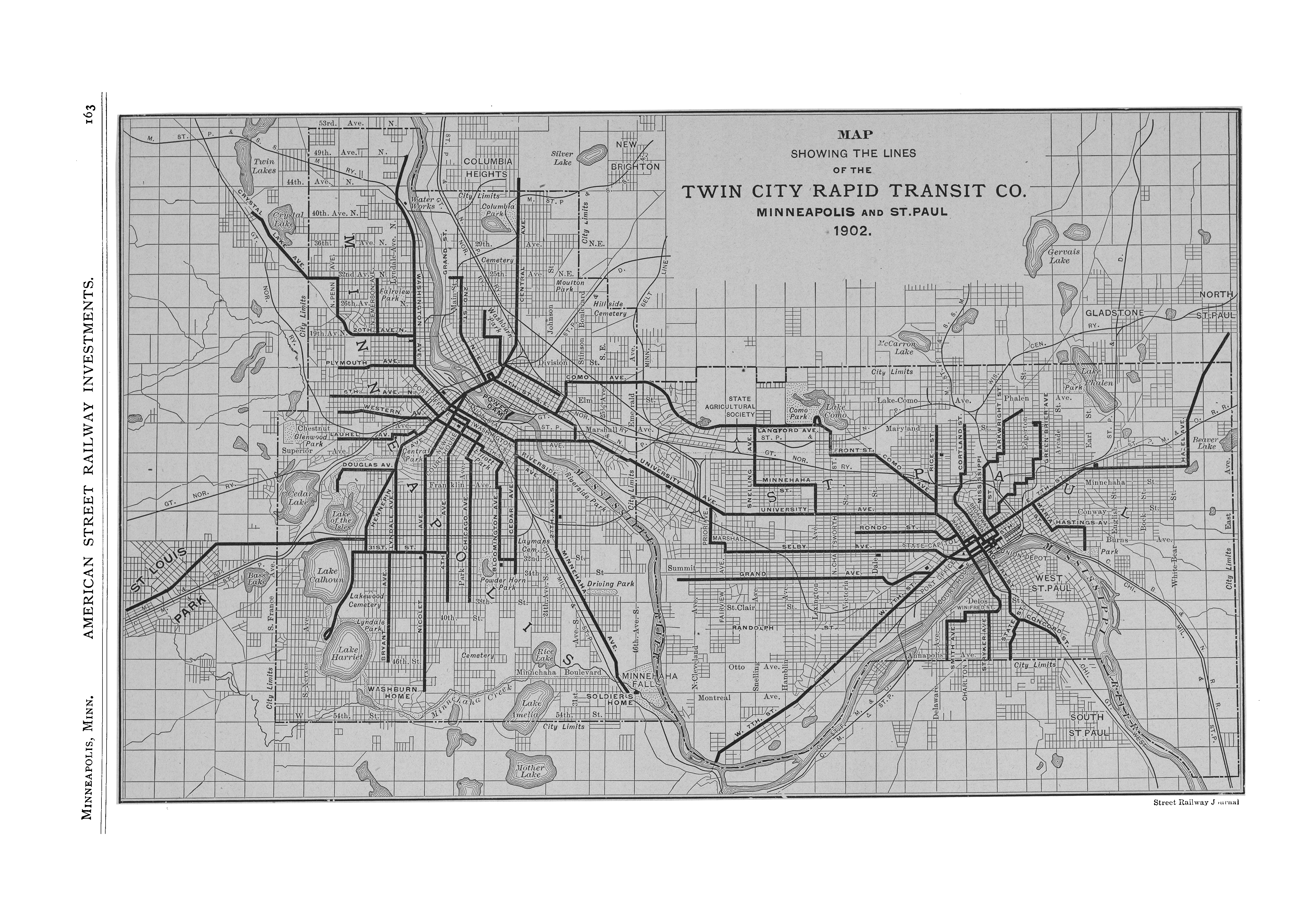 McGraw Electric Railway Manual  PerryCastaeda Map Collection