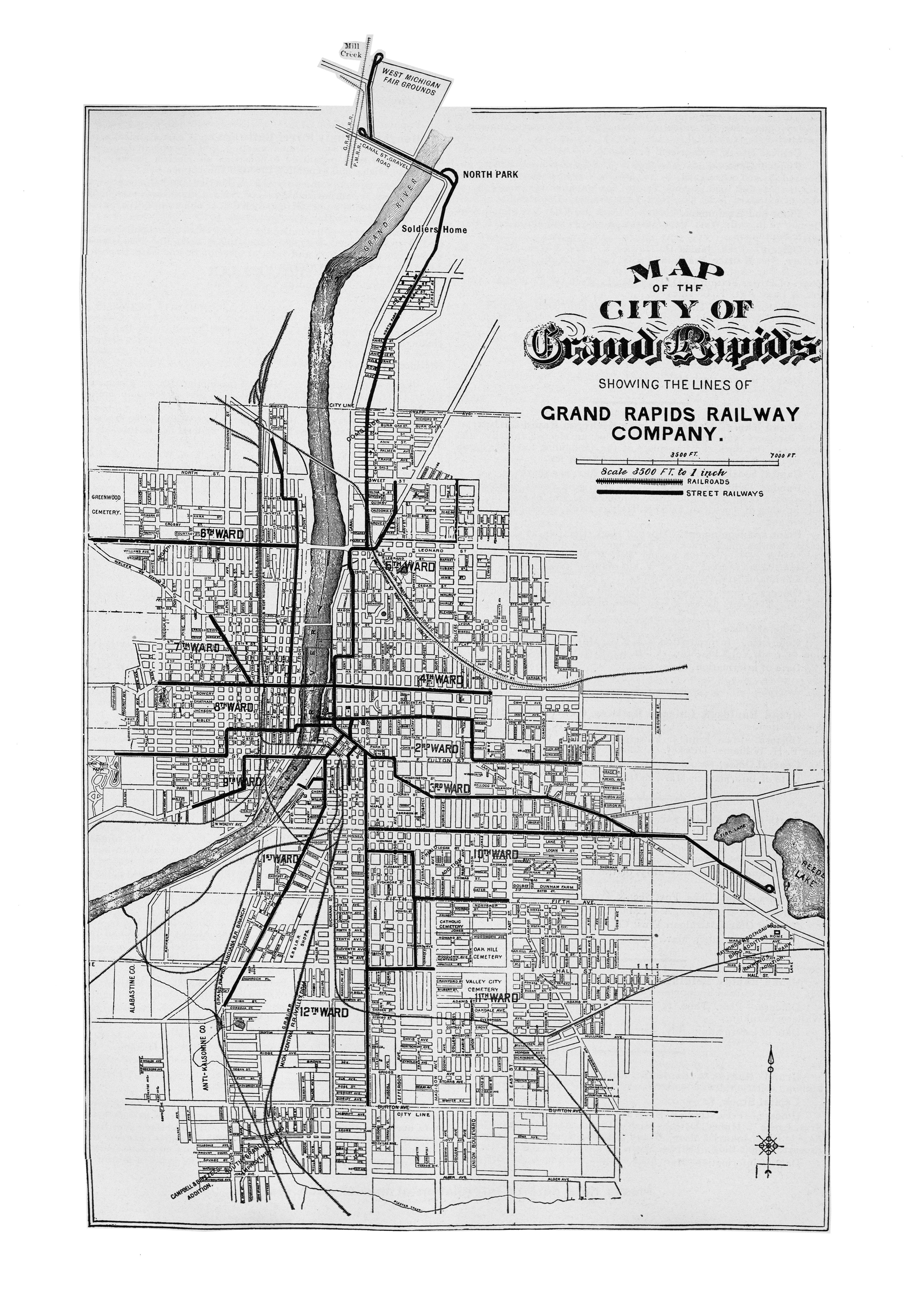 (kb) . mcgraw electric railway manual  perrycastañeda map collection