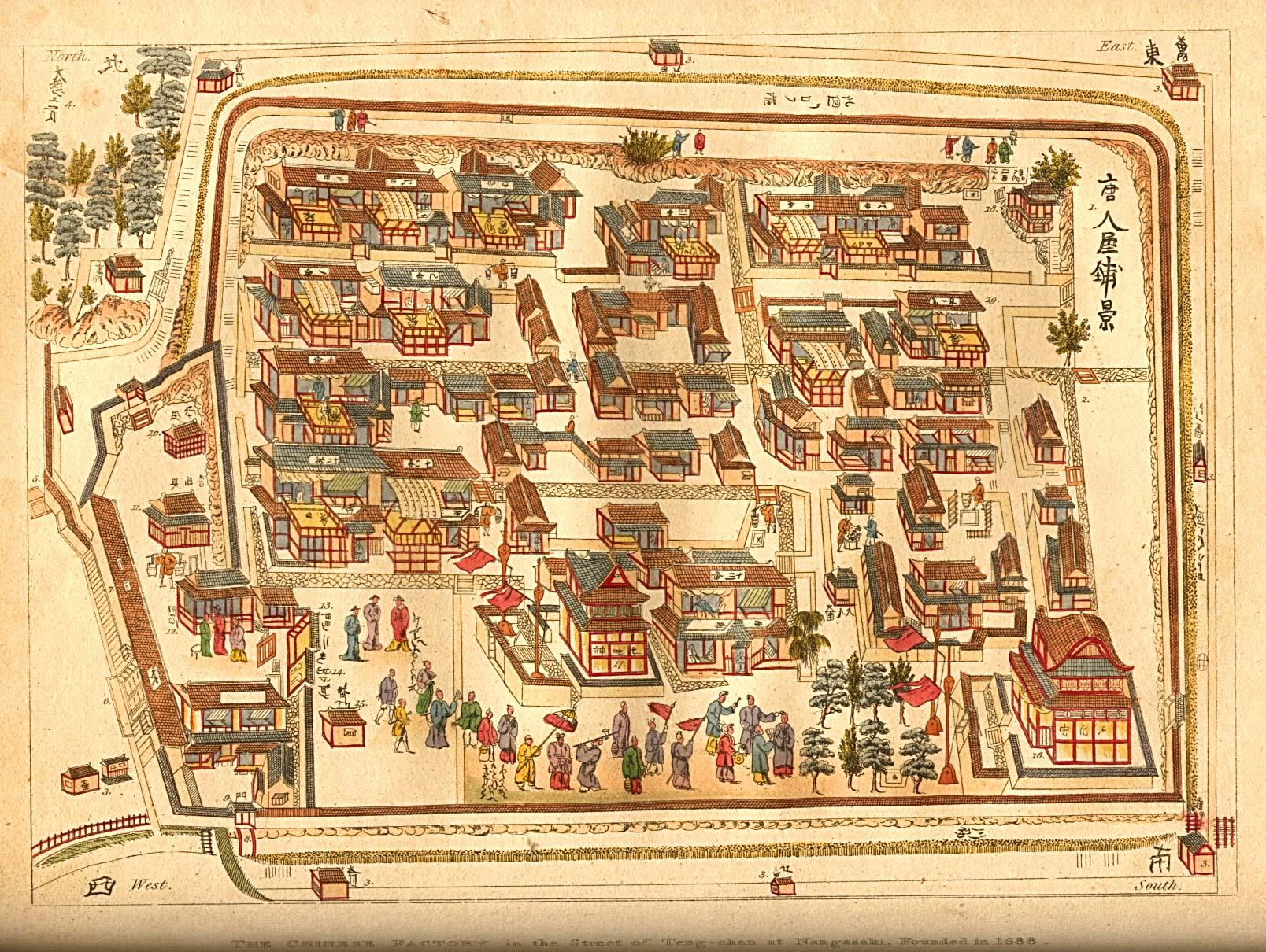 Asian street maps