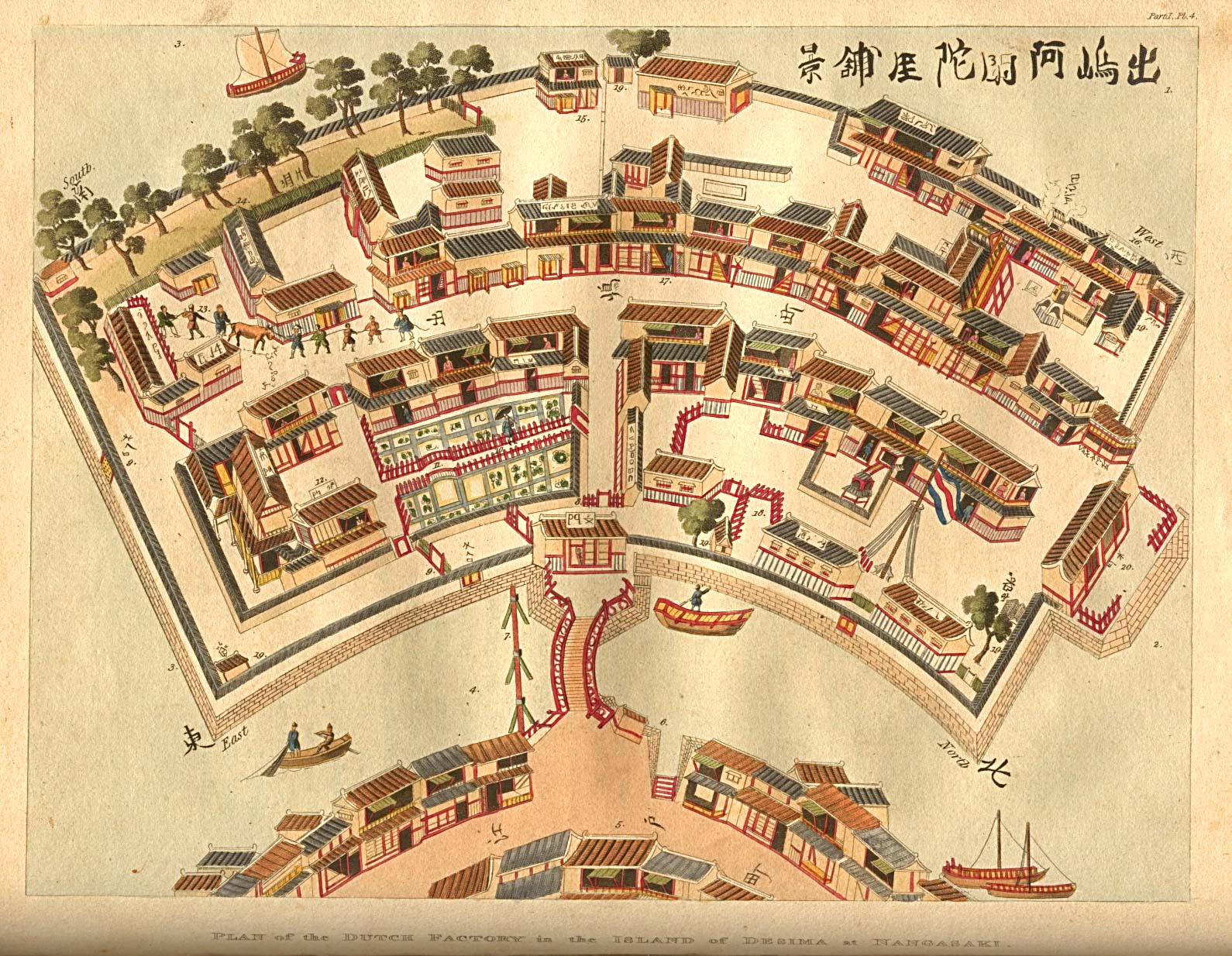 town layout Asian