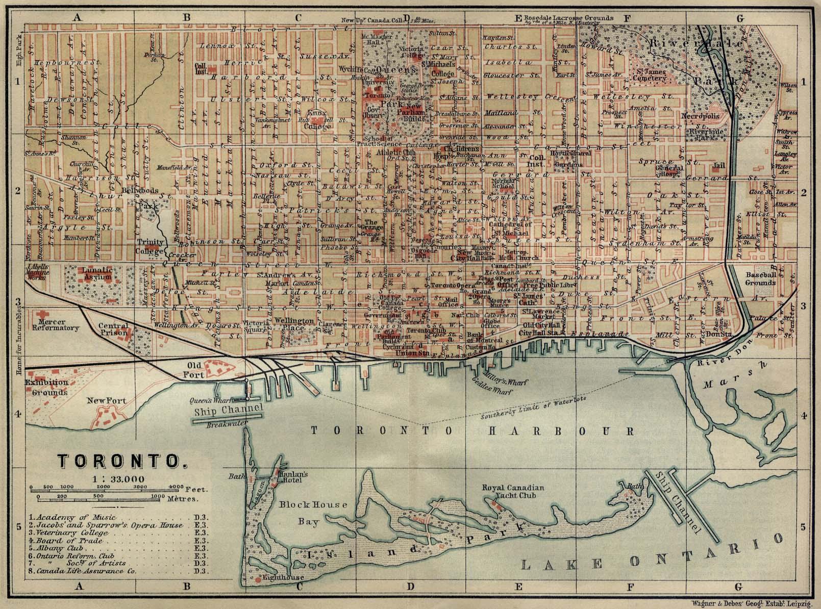 Americas Historical Maps PerryCastañeda Map Collection UT - Us map toronto canada