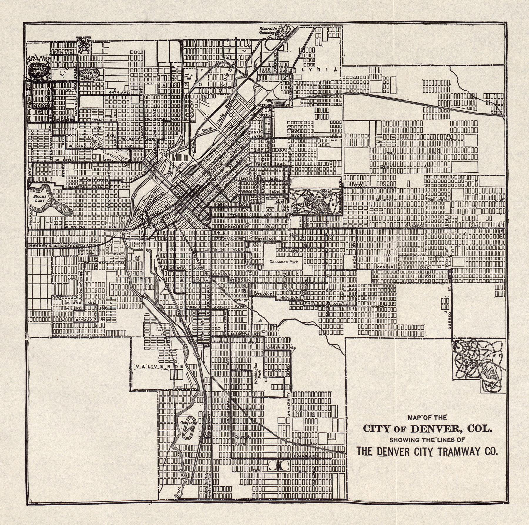Denvers Historic Streetcar Legacy DenverUrbanism Blog