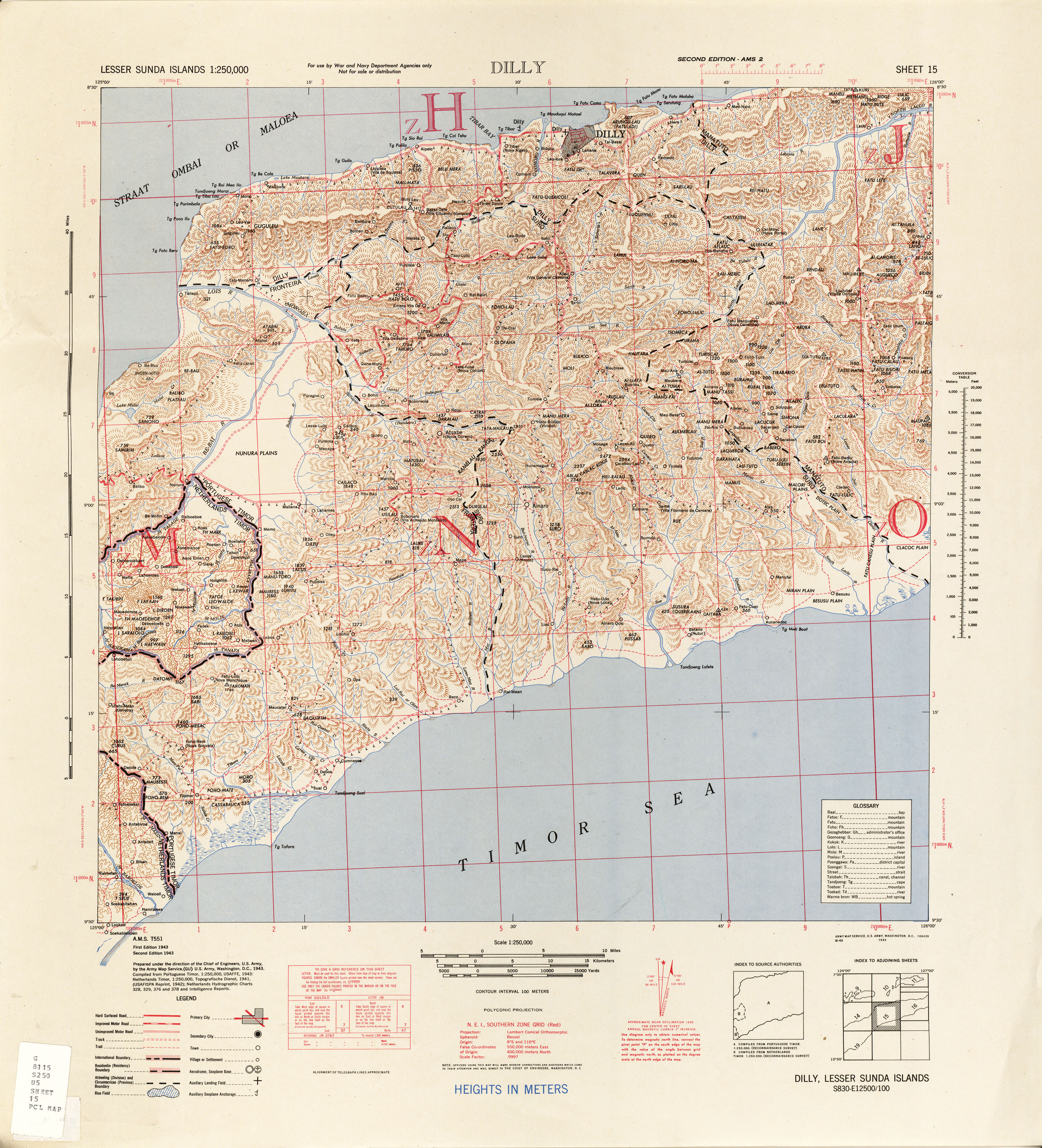 East Timor Maps - Perry-Castañeda Map Collection - UT Library Online