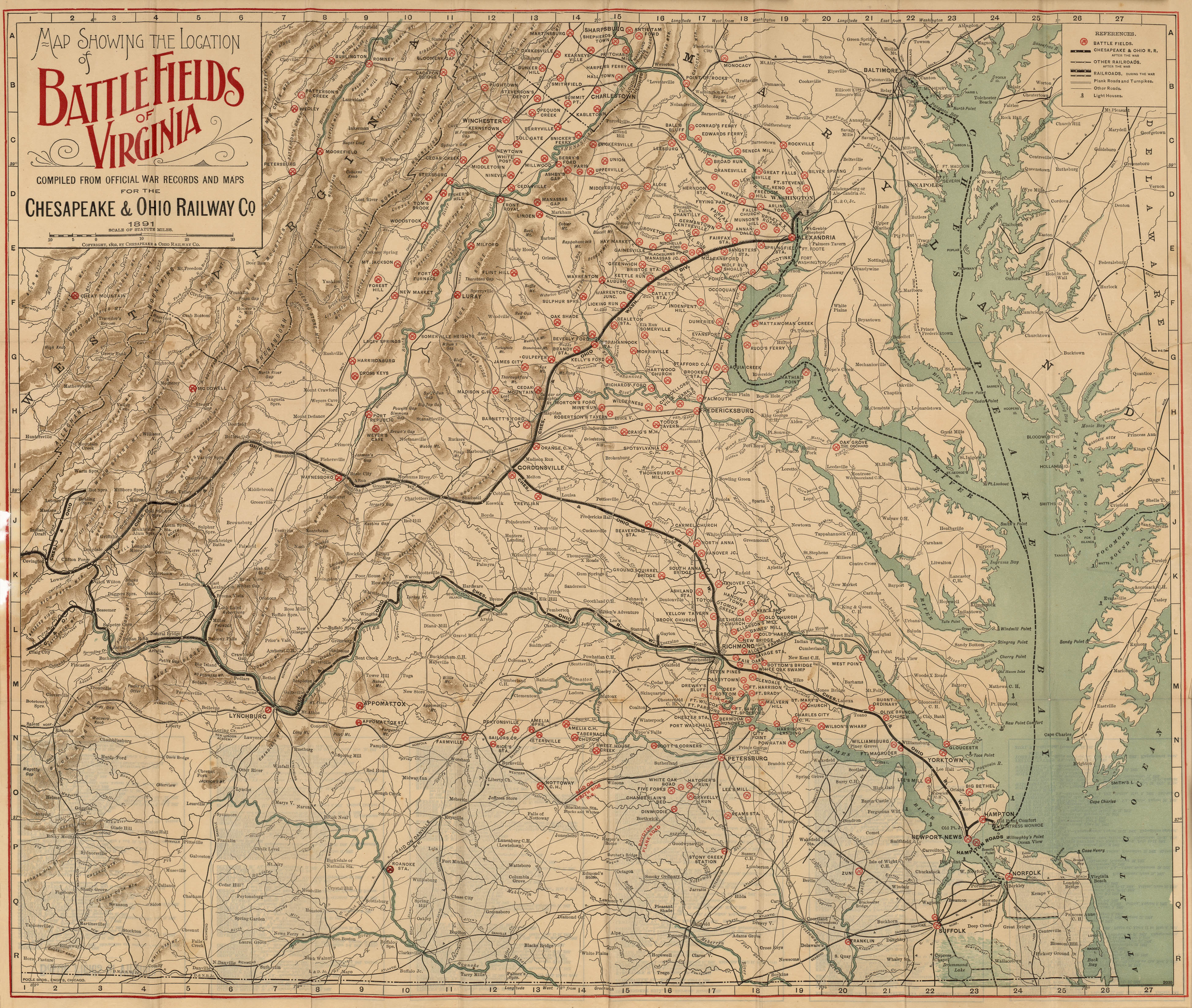 Virginia Maps PerryCasta eda Map Collection UT Library Online – Virginia Travel Map