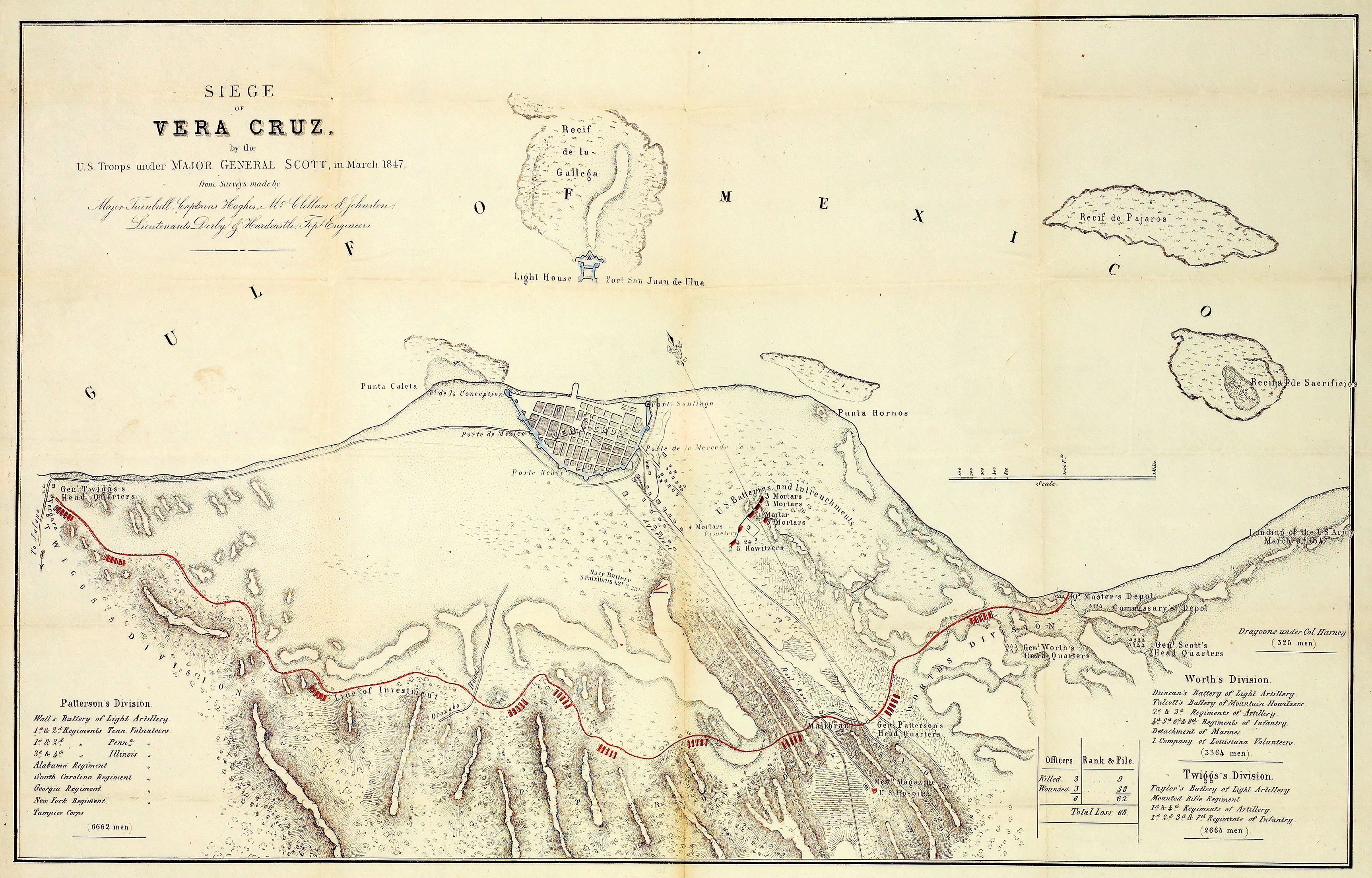 Americas Historical Maps PerryCastañeda Map Collection UT - Us map 1847
