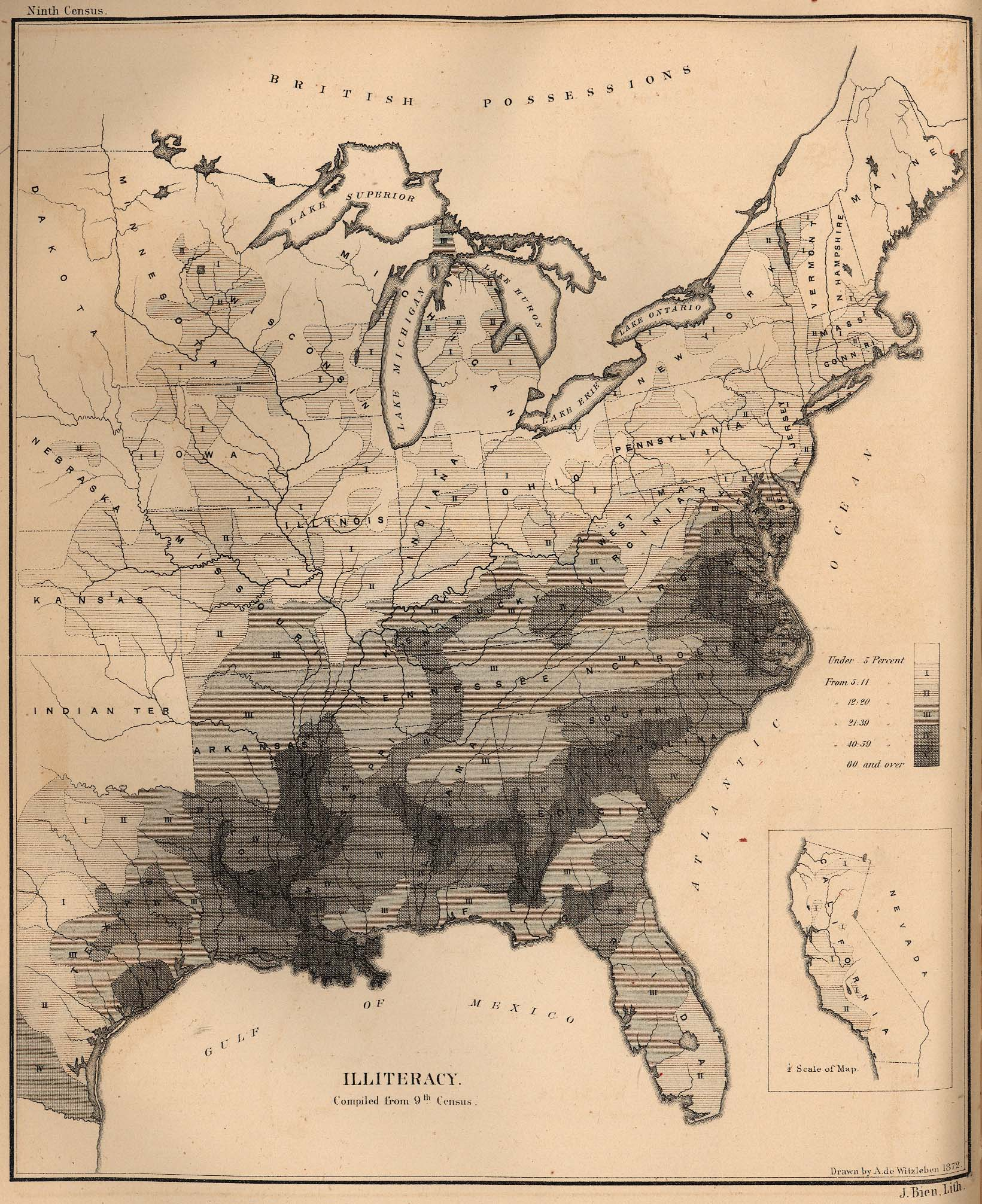United States Historical Maps Map Collection UT - Us map in reconstruction
