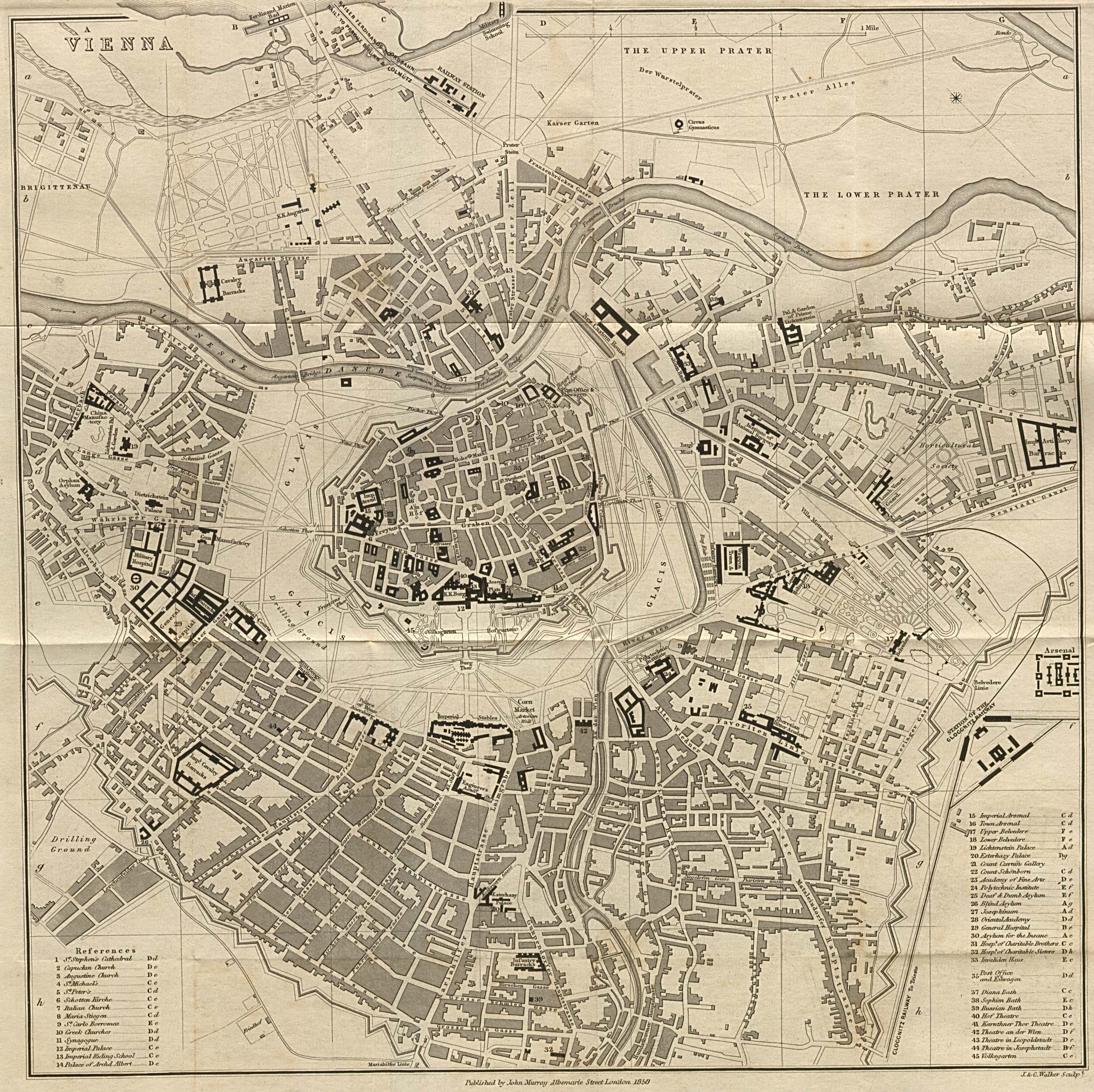 Austria Maps PerryCastañeda Map Collection UT Library Online - Map of austria cities