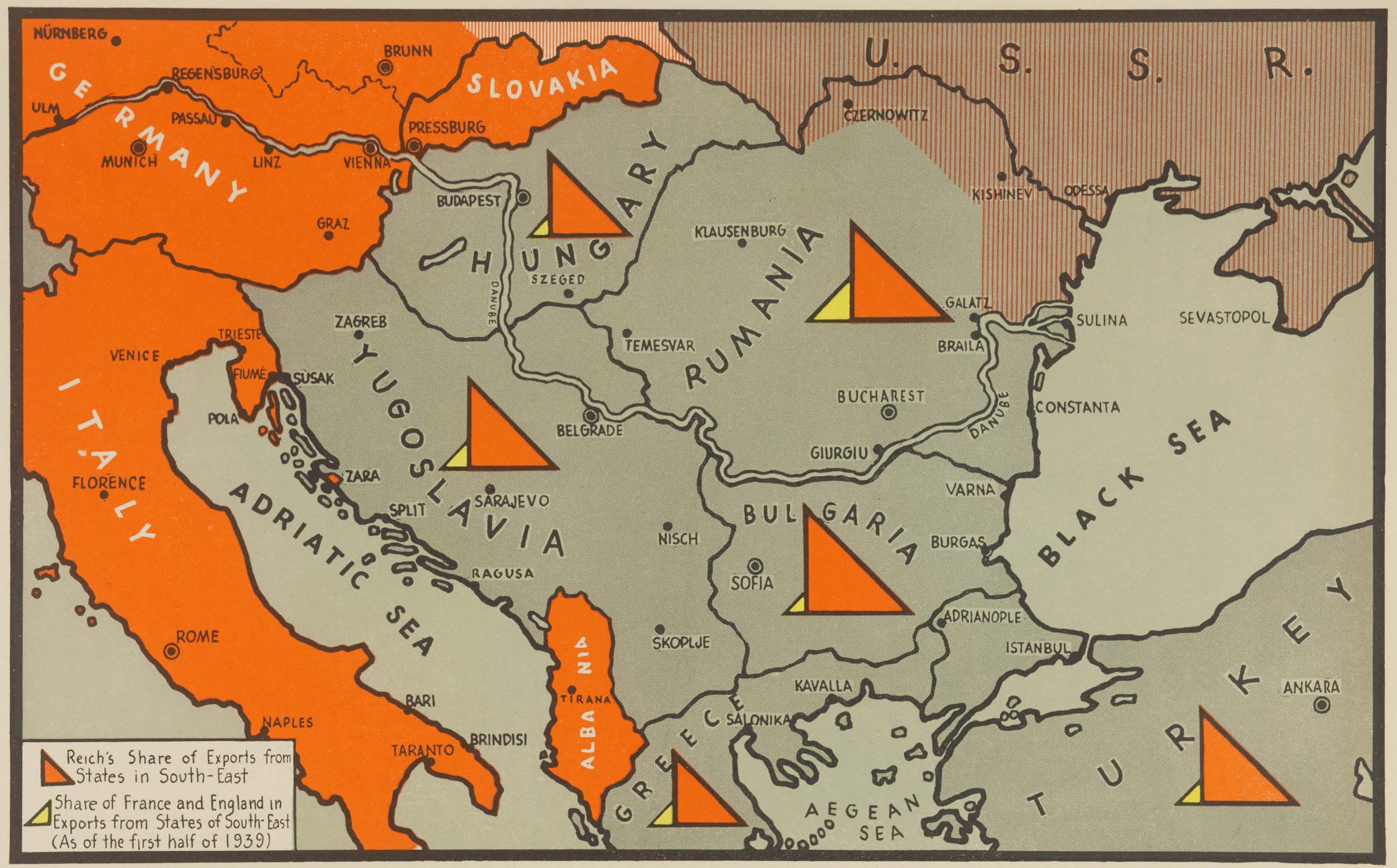 Map Of Germany In 1940.Maps From The War In Maps Perry Castaa Eda Map Collection