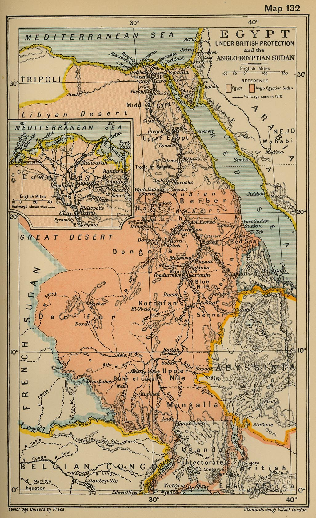Egypt Maps Perry Castaneda Map Collection Ut Library Online