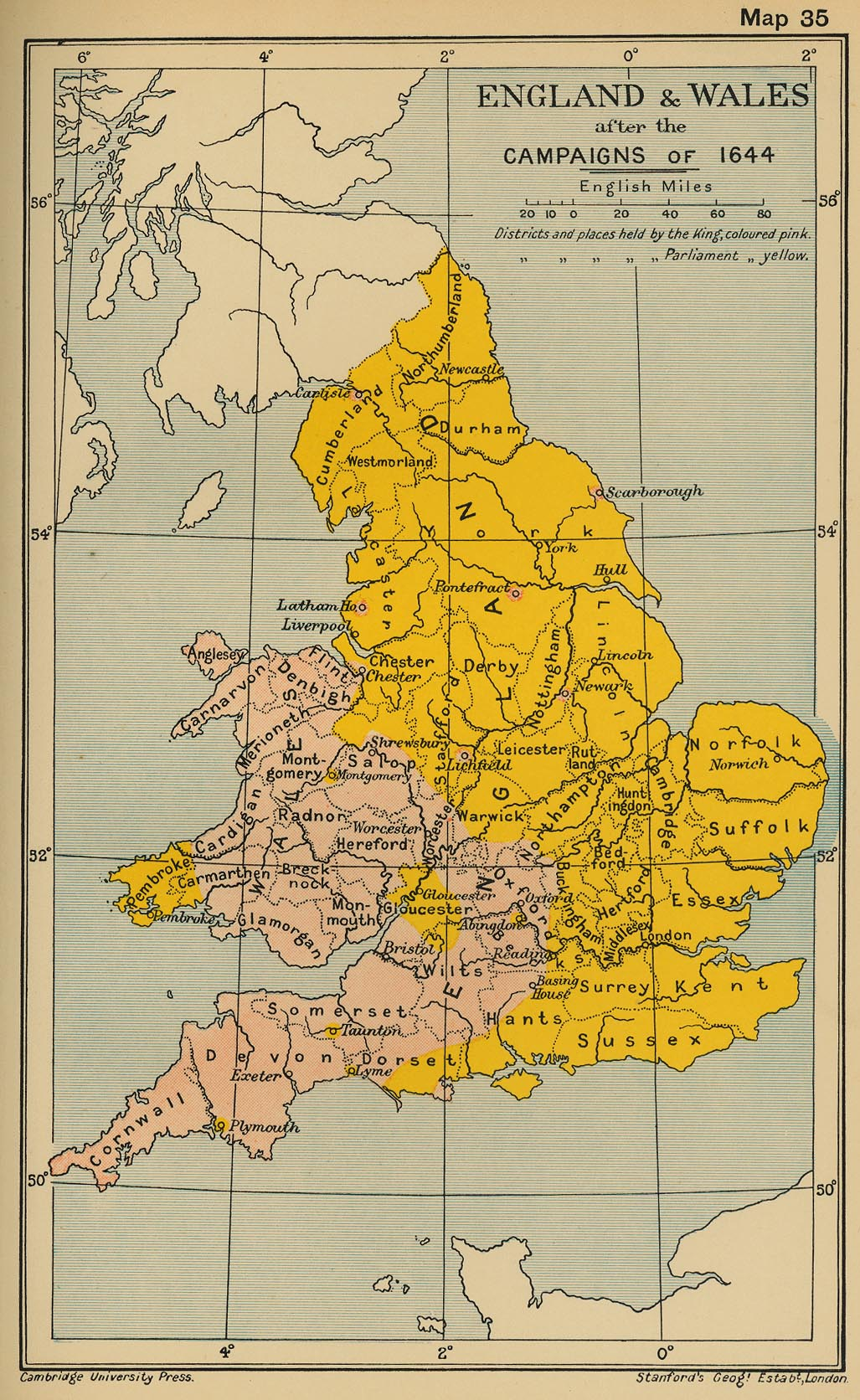 Map Of England 1600.Historical Maps Of The British Isles Page 2