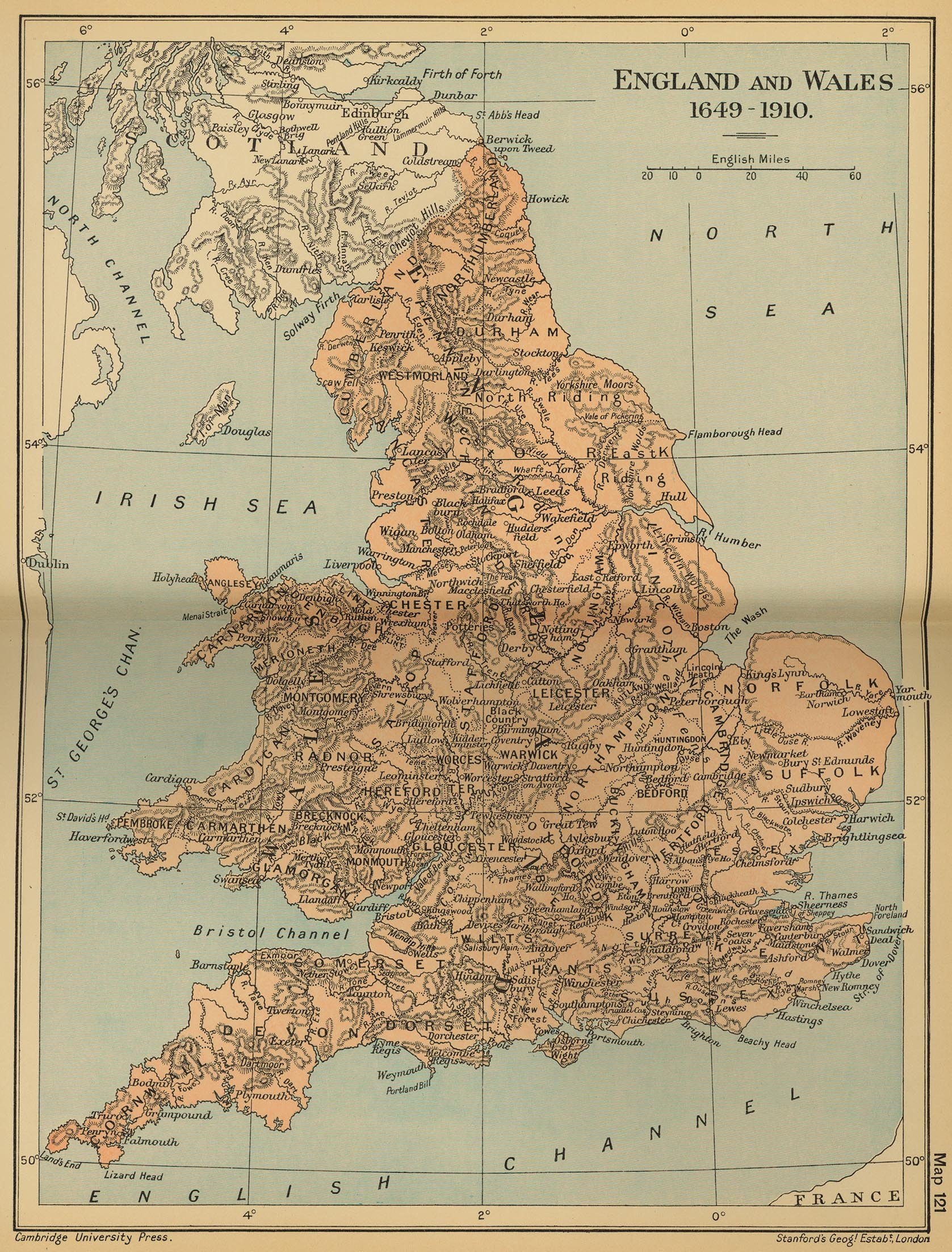 Map Of England Uk.United Kingdom Maps Perry Castaneda Map Collection Ut Library Online
