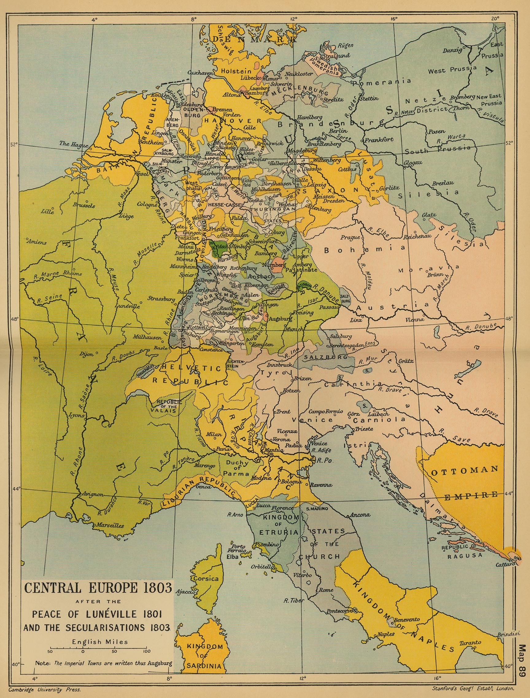 Map Of Germany 1870.Historical Maps Of Germany